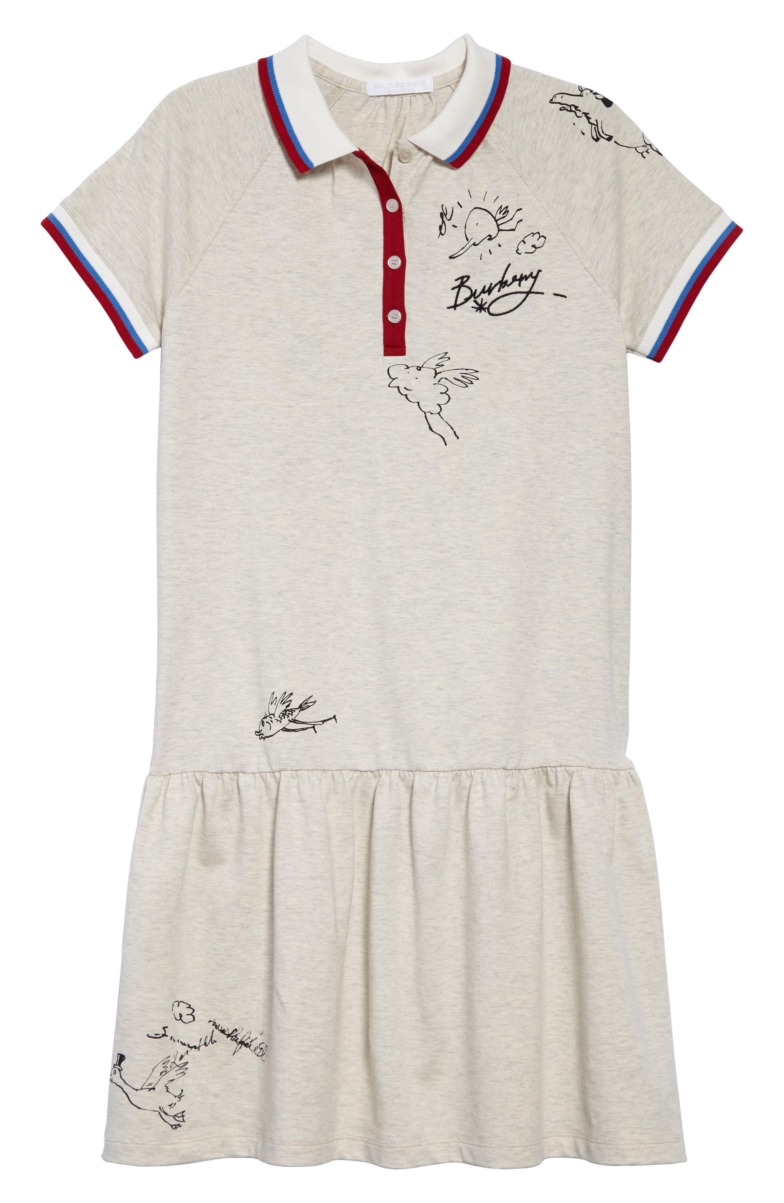 Cali Polo Dress,                             Main thumbnail 1, color,                             100