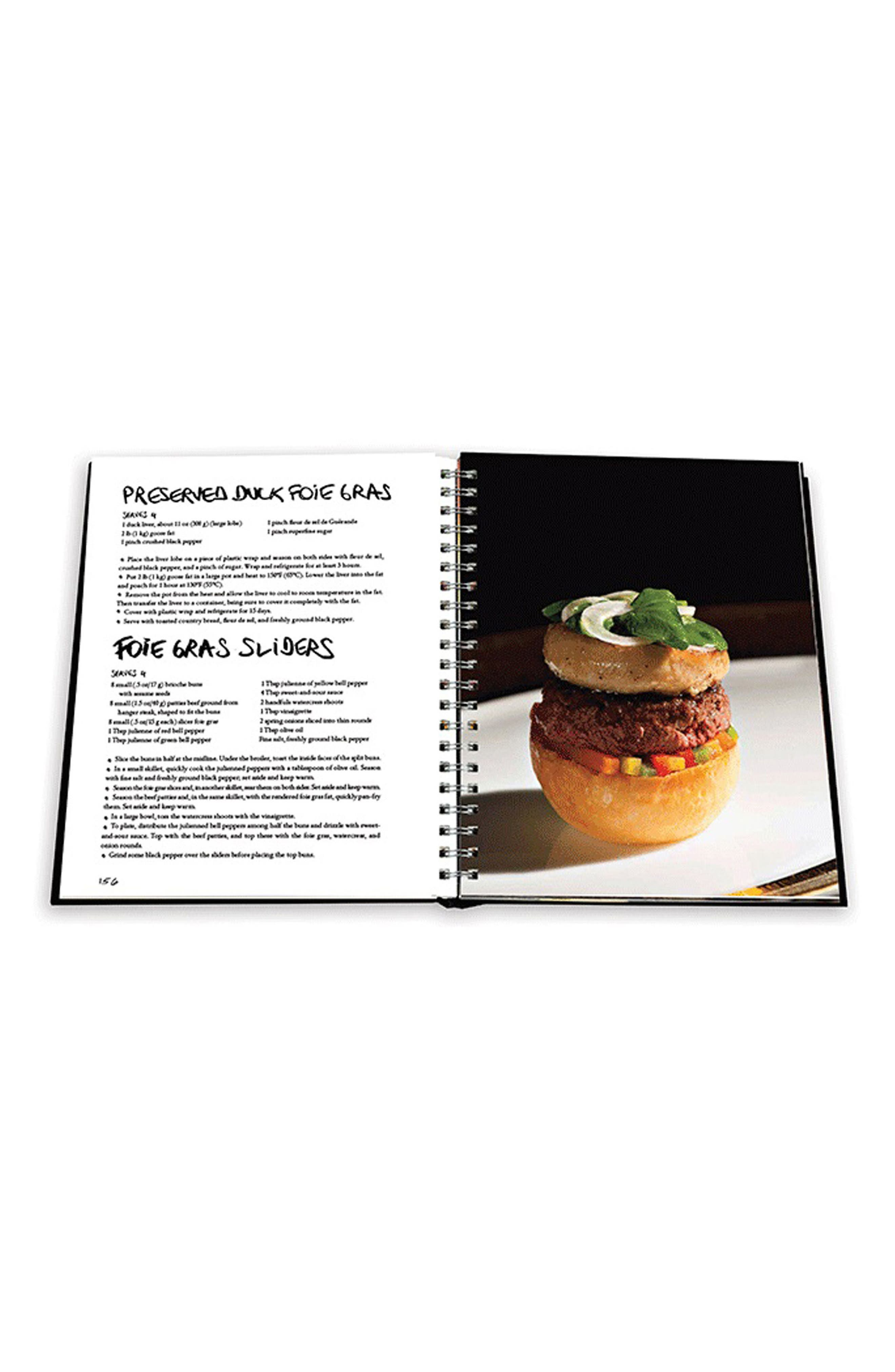'Food & Life' Book,                             Alternate thumbnail 4, color,                             BLACK/ RED
