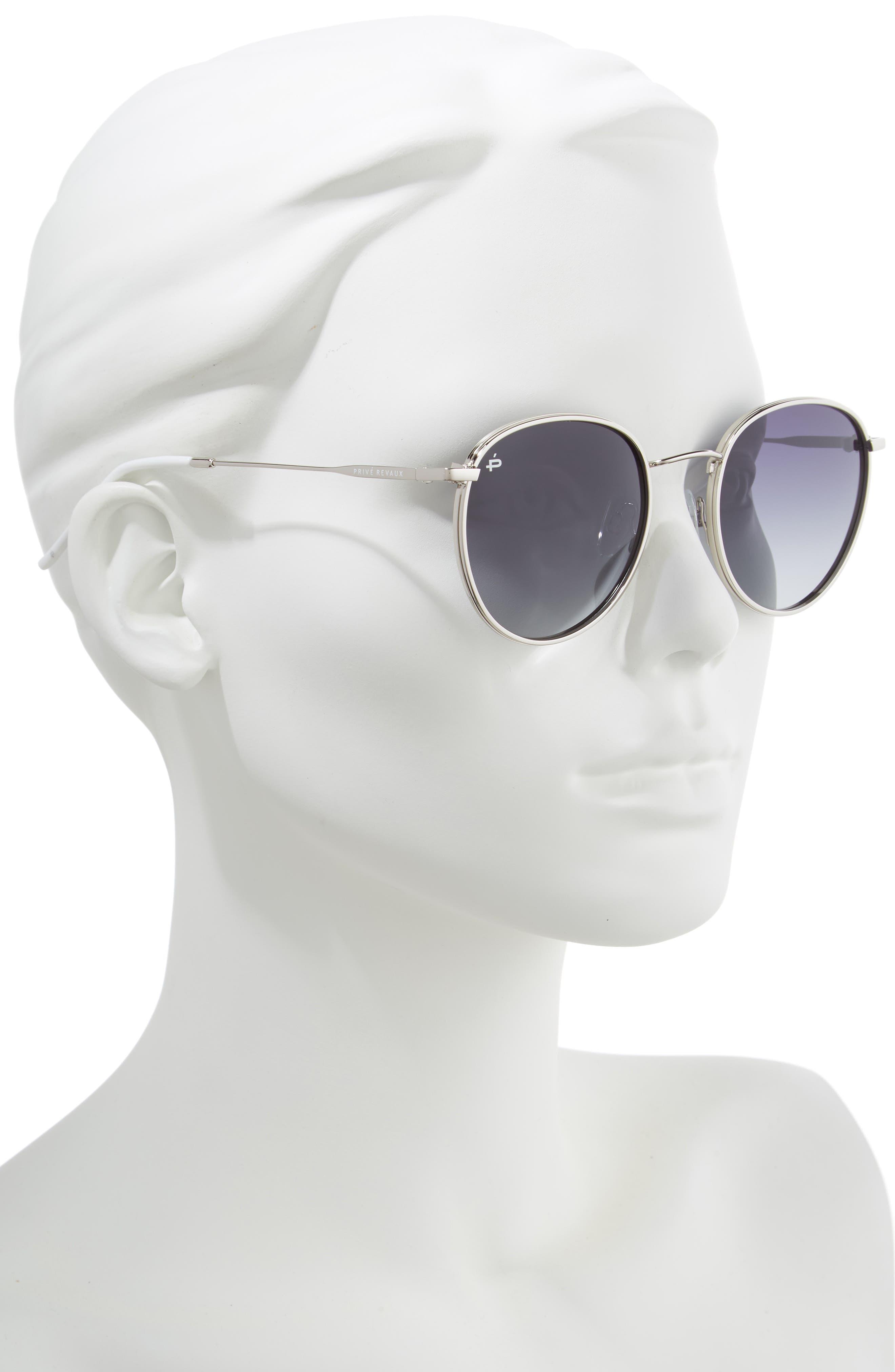 Privé Revaux The Patriot 53mm Sunglasses,                             Alternate thumbnail 4, color,