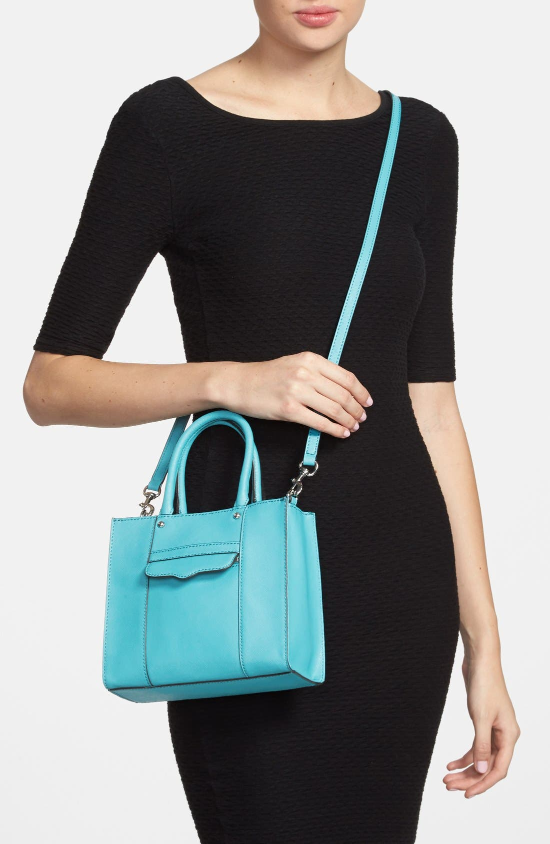 'Mini MAB Tote' Crossbody Bag,                             Alternate thumbnail 86, color,