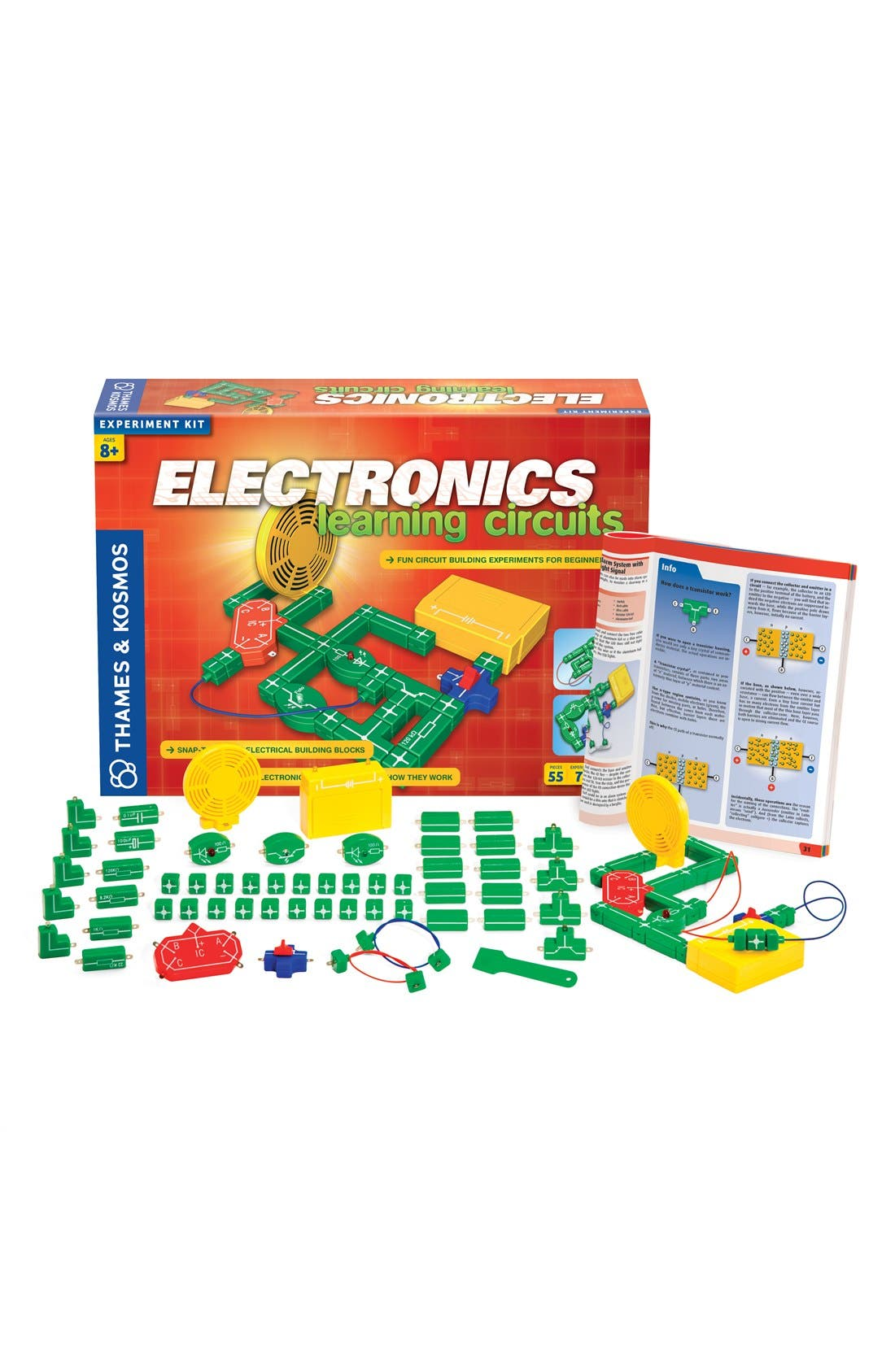 'Electronics Learning Circuits' Experiment Kit,                             Main thumbnail 1, color,                             NO COLOR