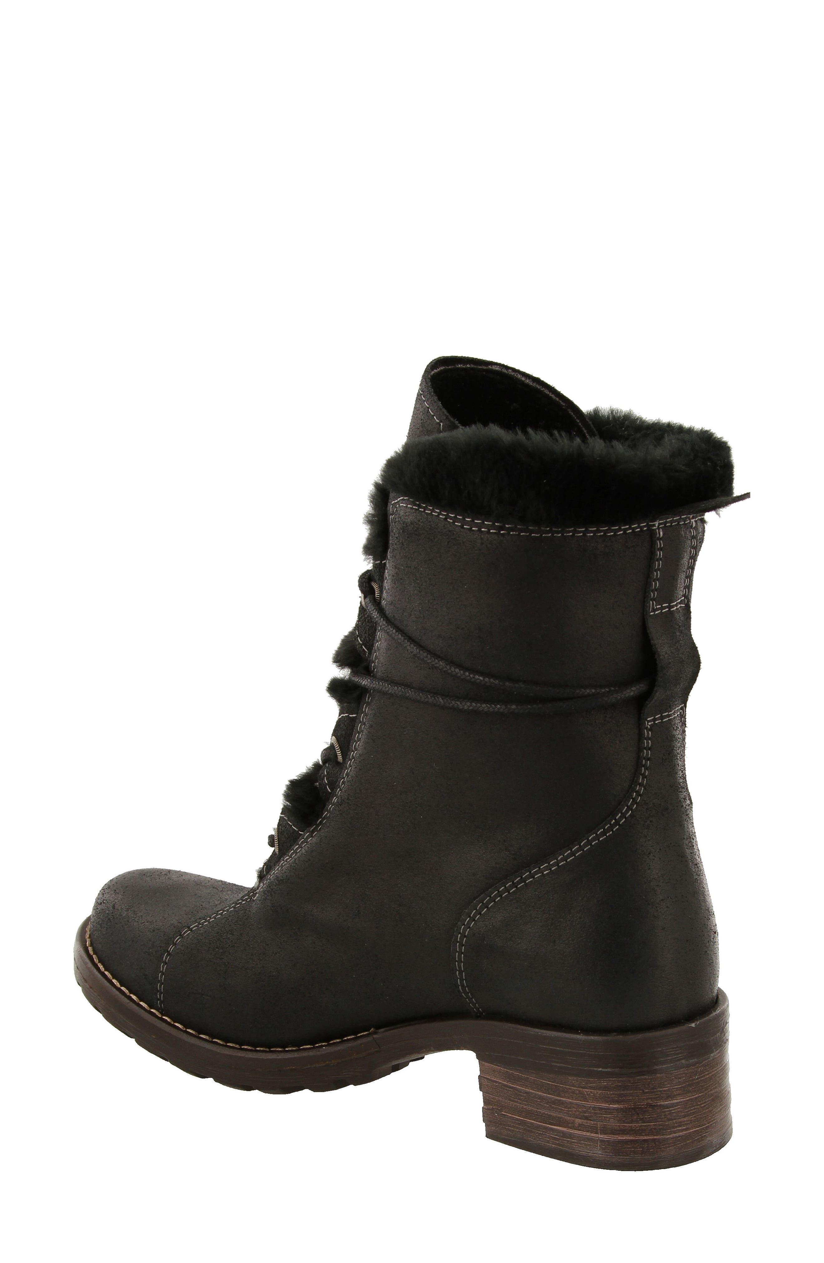 Furkle Boot with Faux Fur Trim,                             Alternate thumbnail 2, color,                             002