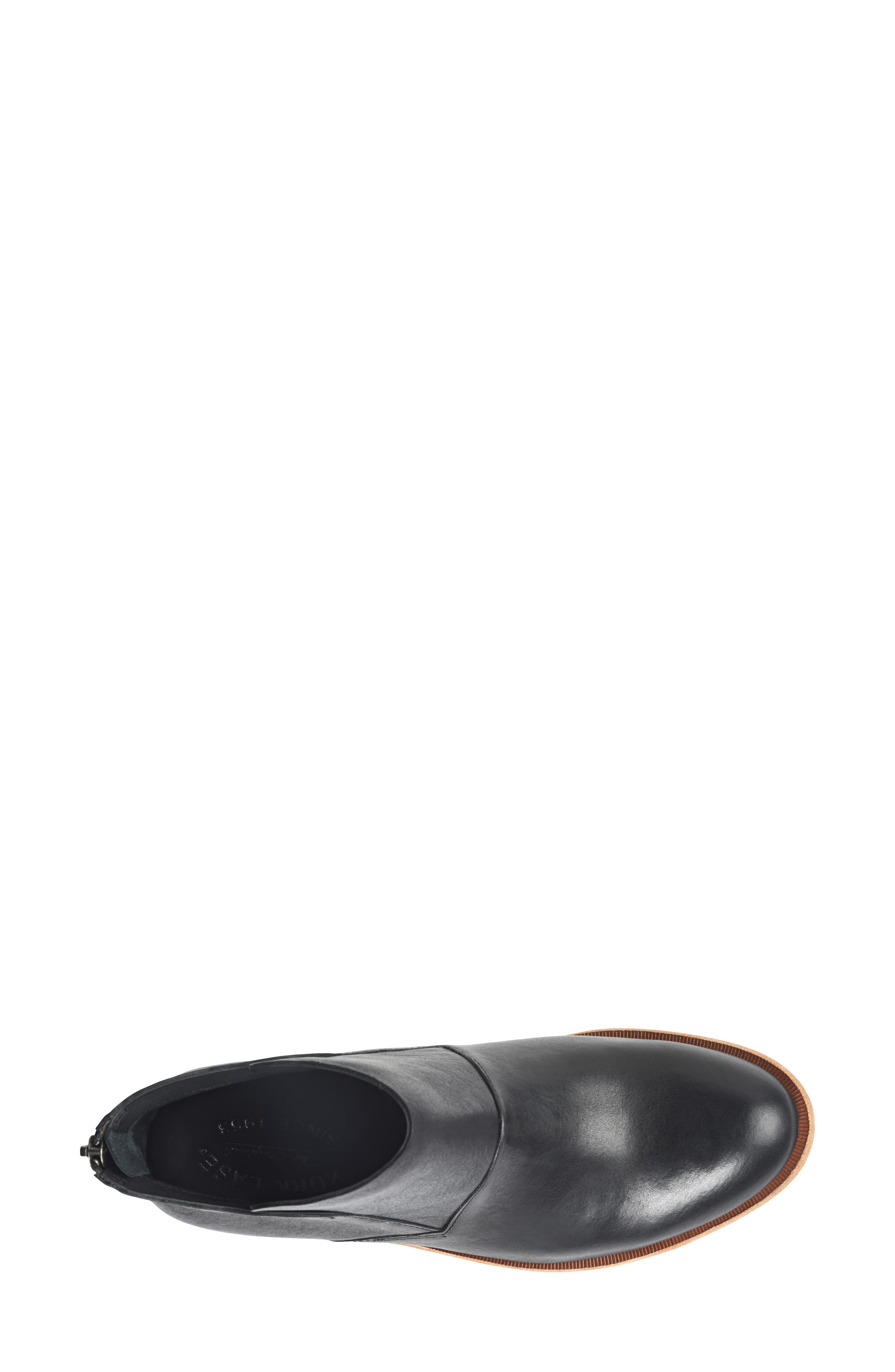 Ryder Ankle Boot,                             Alternate thumbnail 5, color,                             BLACK LEATHER