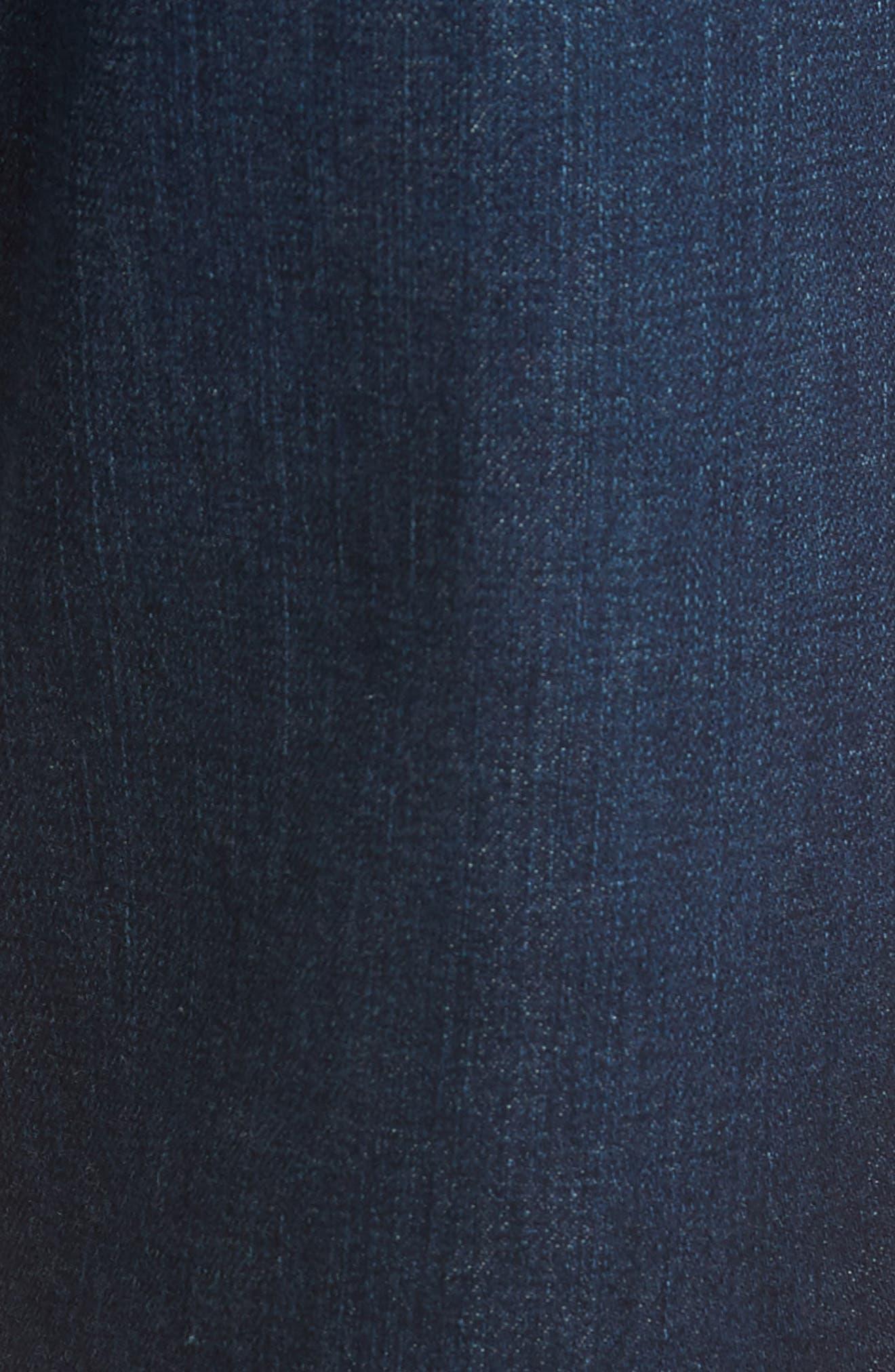 Ives Straight Leg Jeans,                             Alternate thumbnail 5, color,                             407