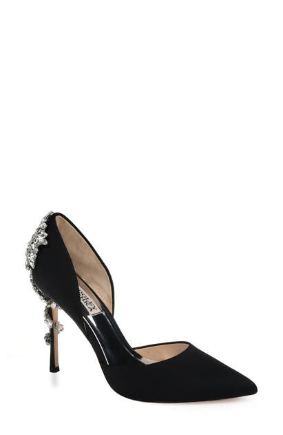 Badgley Mischka Pumps BADGLEY MISCHKA VOGUE CRYSTAL EMBELLISHED D'ORSAY PUMP