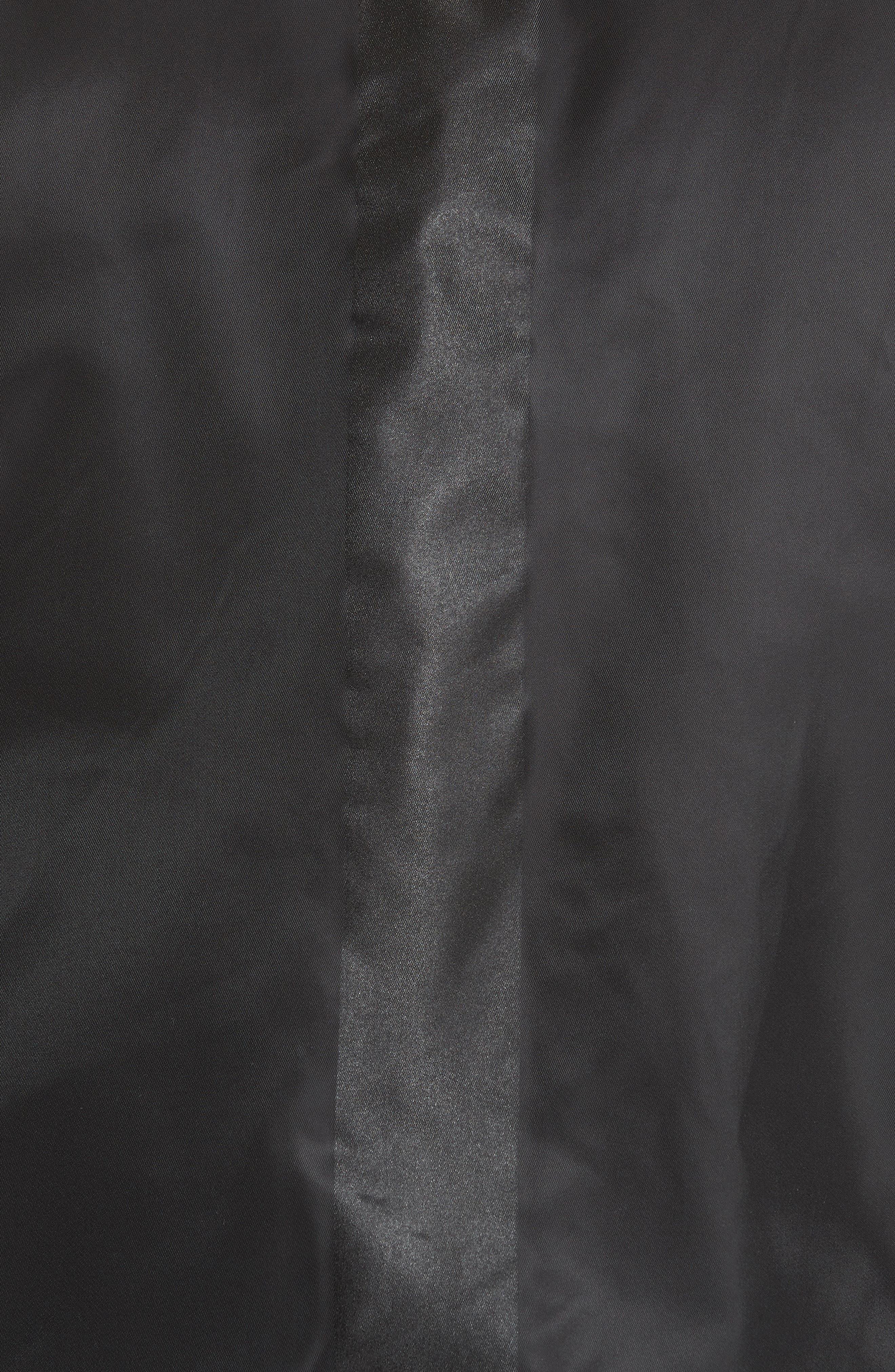 Van Ness Bomber Jacket,                             Alternate thumbnail 6, color,                             BLACK