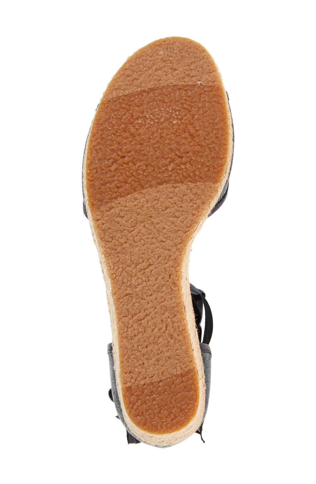 UGG<SUP>®</SUP>,                             Amell Ankle Wrap Sandal,                             Alternate thumbnail 5, color,                             001