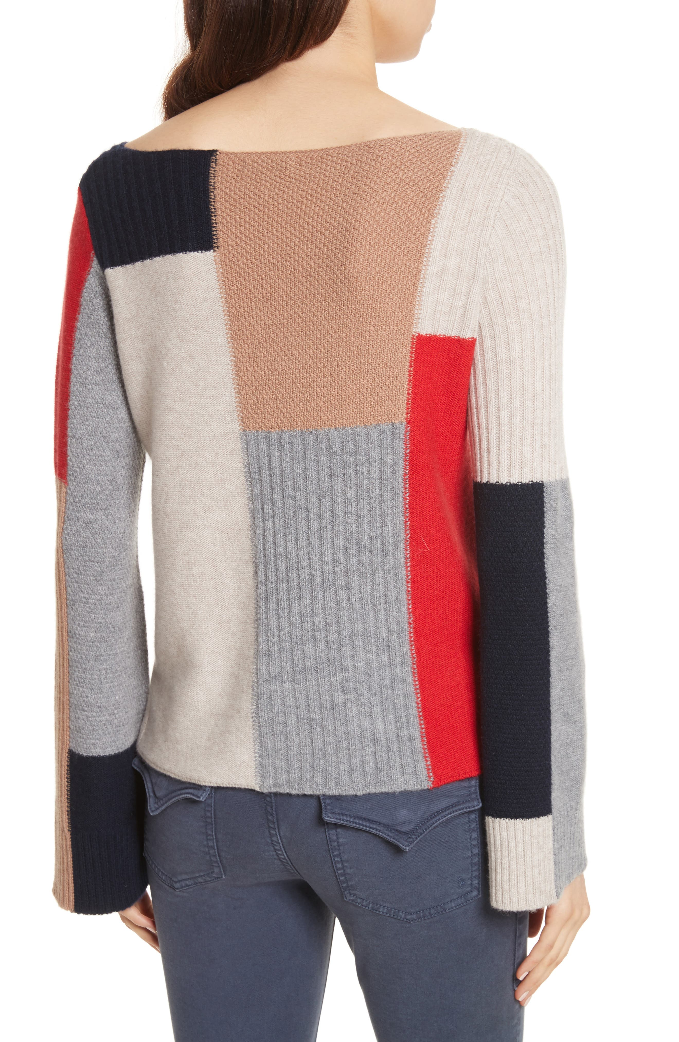 Adene Wool & Cashmere Sweater,                             Alternate thumbnail 2, color,                             641