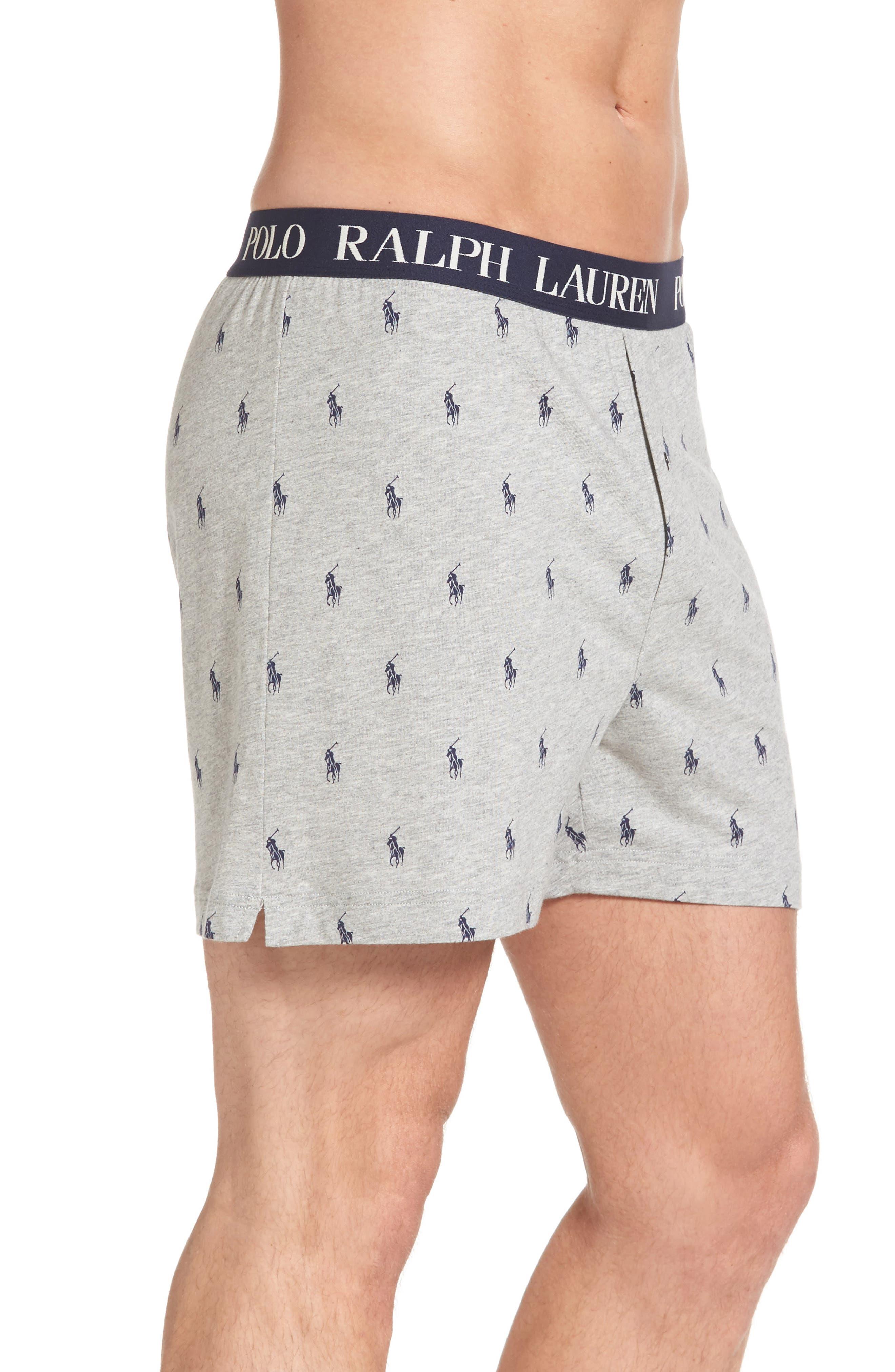 Slim Fit Knit Cotton & Modal Boxers,                             Alternate thumbnail 3, color,                             020
