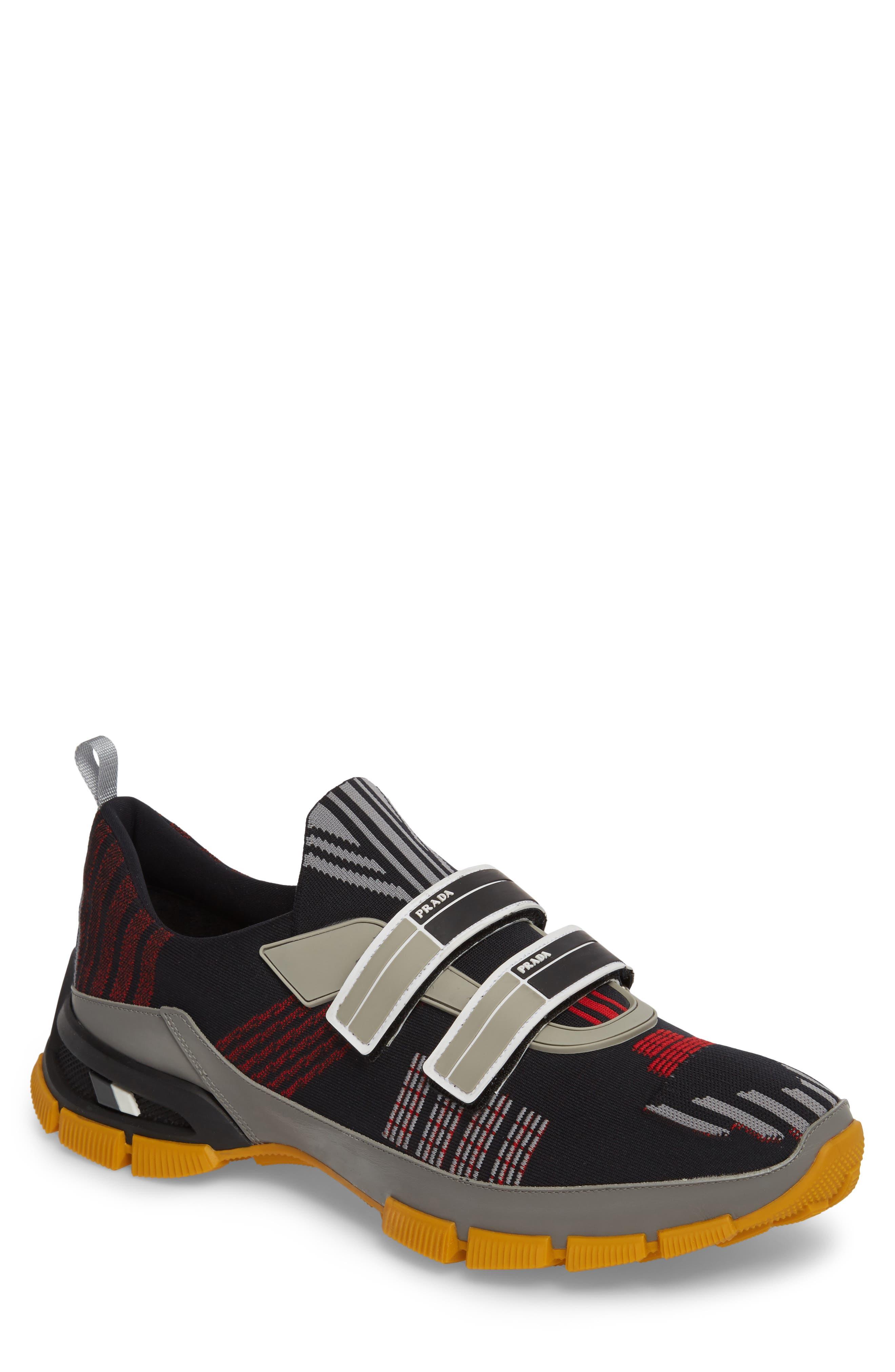Linea Rossa Strap Sneaker,                             Main thumbnail 1, color,                             001