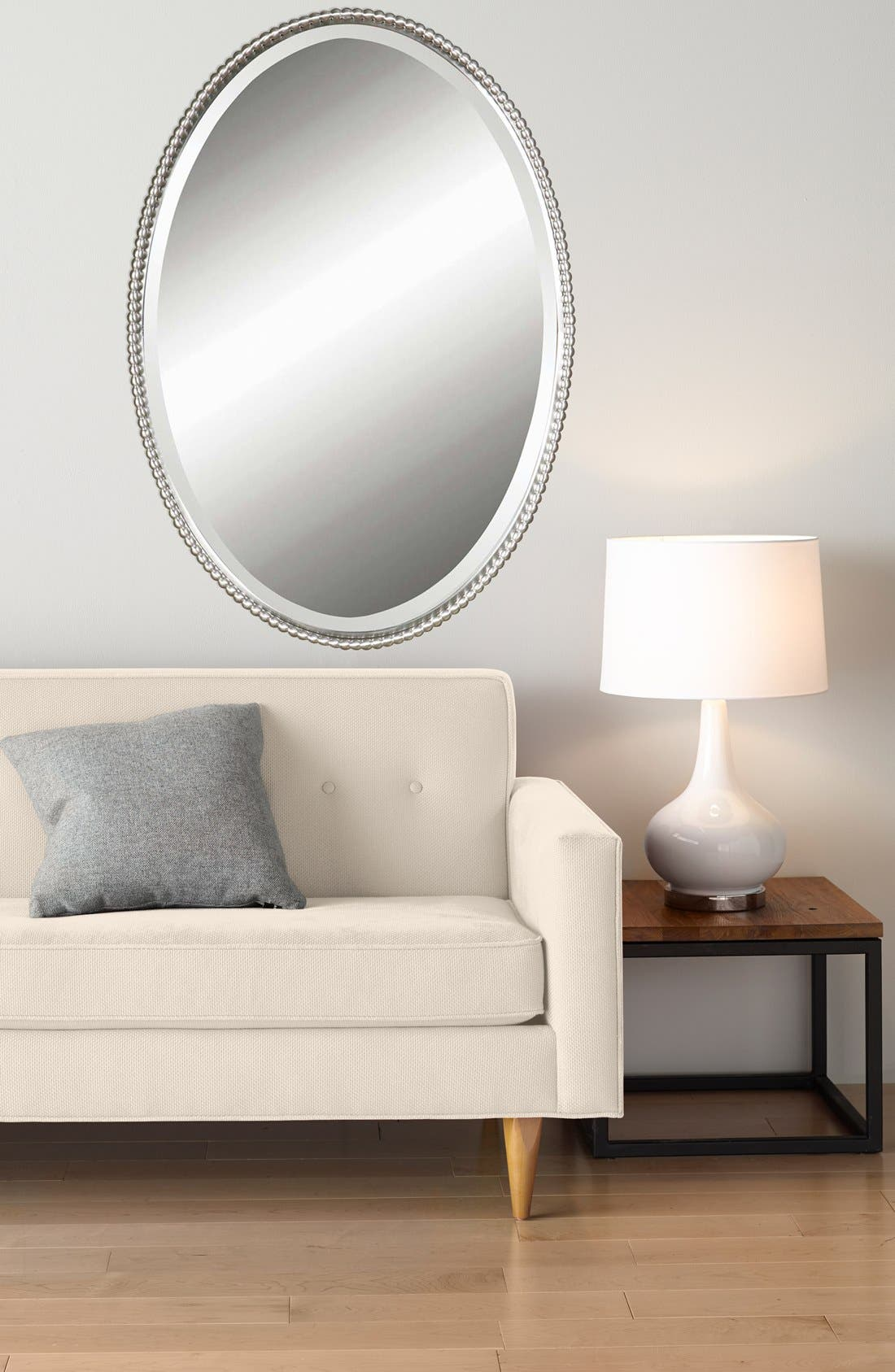 'Sherise' Oval Mirror,                             Alternate thumbnail 4, color,                             040