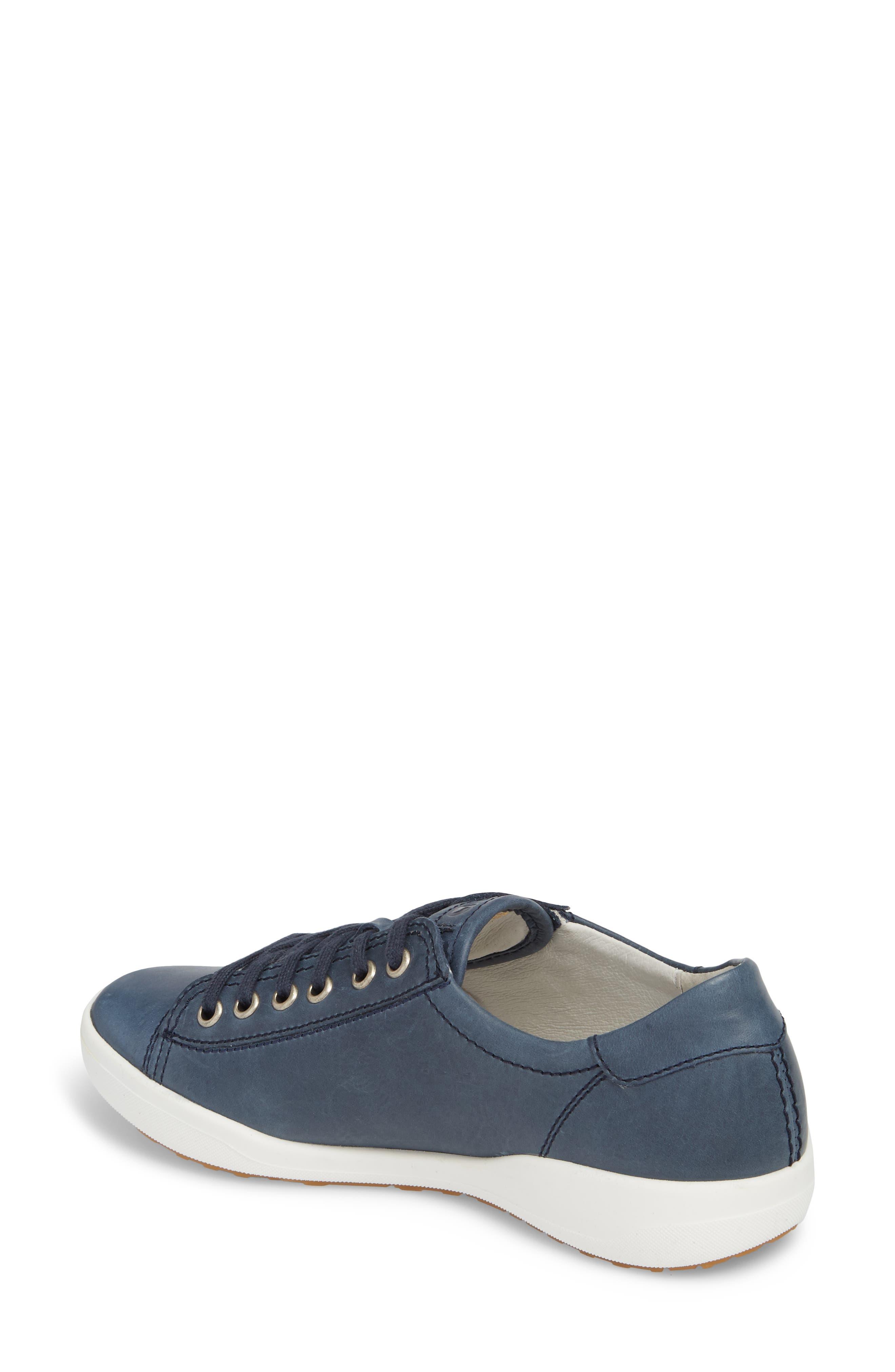 Sina 11 Sneaker,                             Alternate thumbnail 2, color,                             DENIM LEATHER