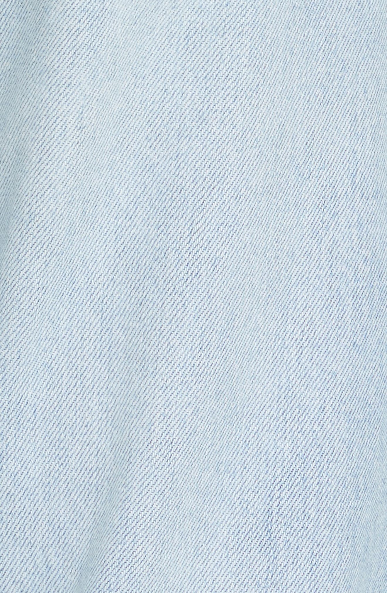 Reconstructed Crop Jeans,                             Alternate thumbnail 5, color,                             400
