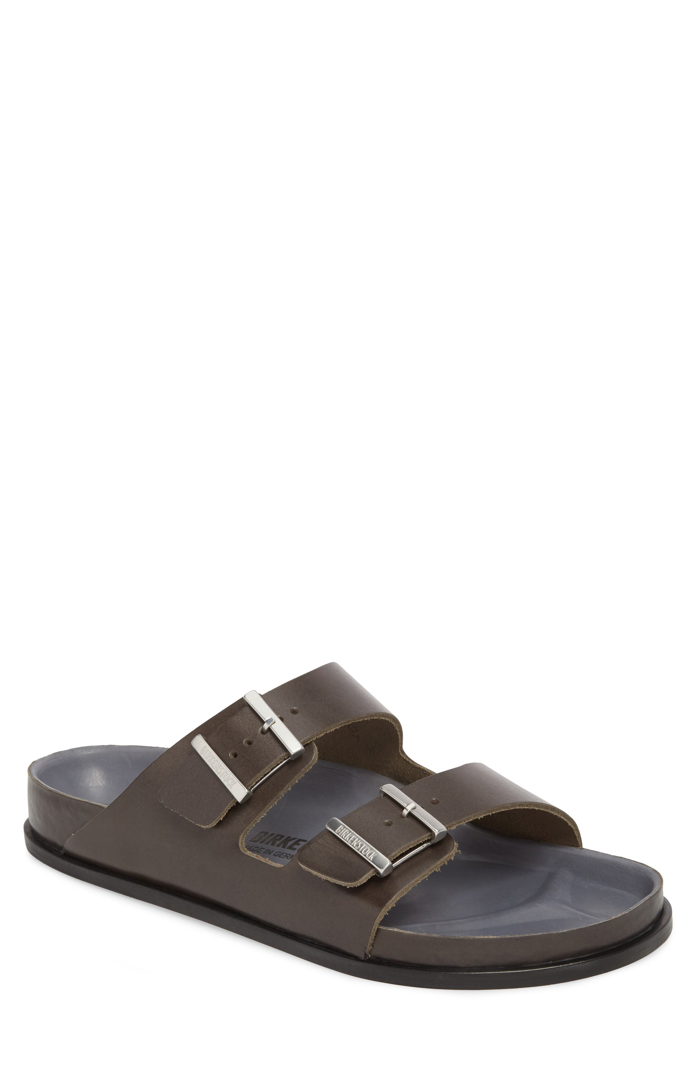 Birkenstock Arizona Premium Slide Sandal,11.5US / 44EU - Grey