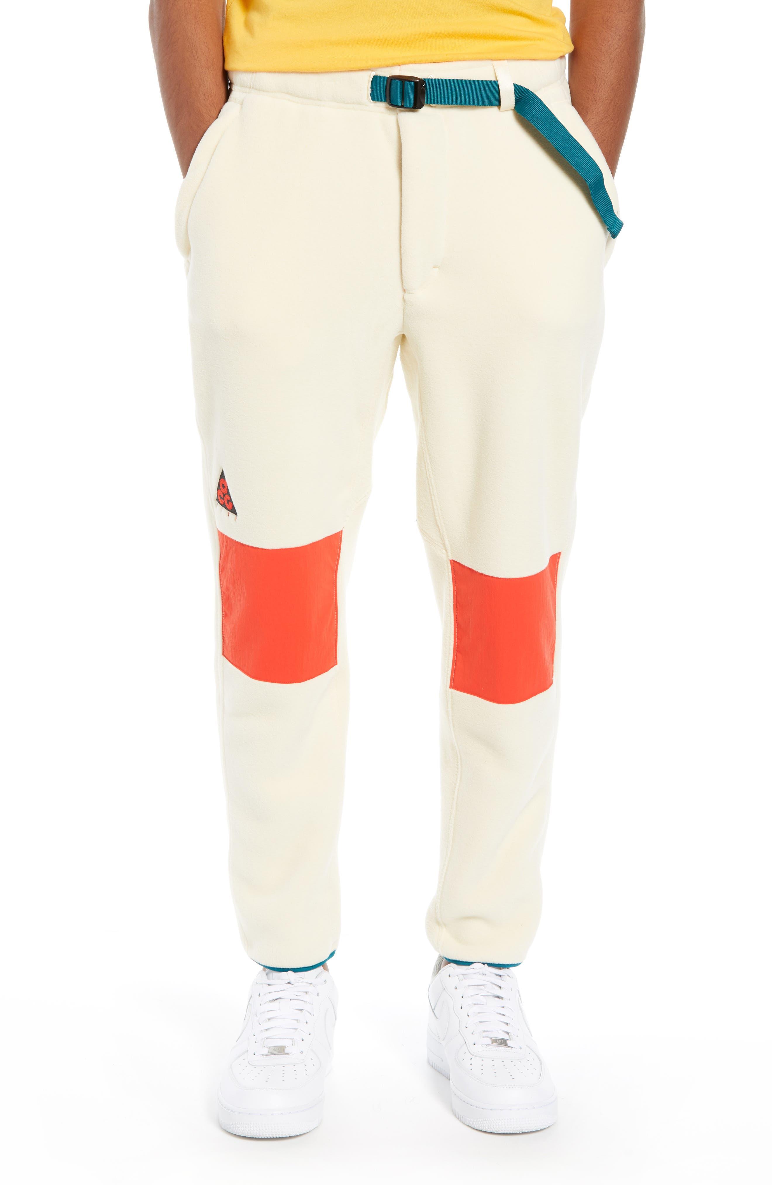 ACG Men's Fleece Pants,                         Main,                         color, LIGHT CREAM