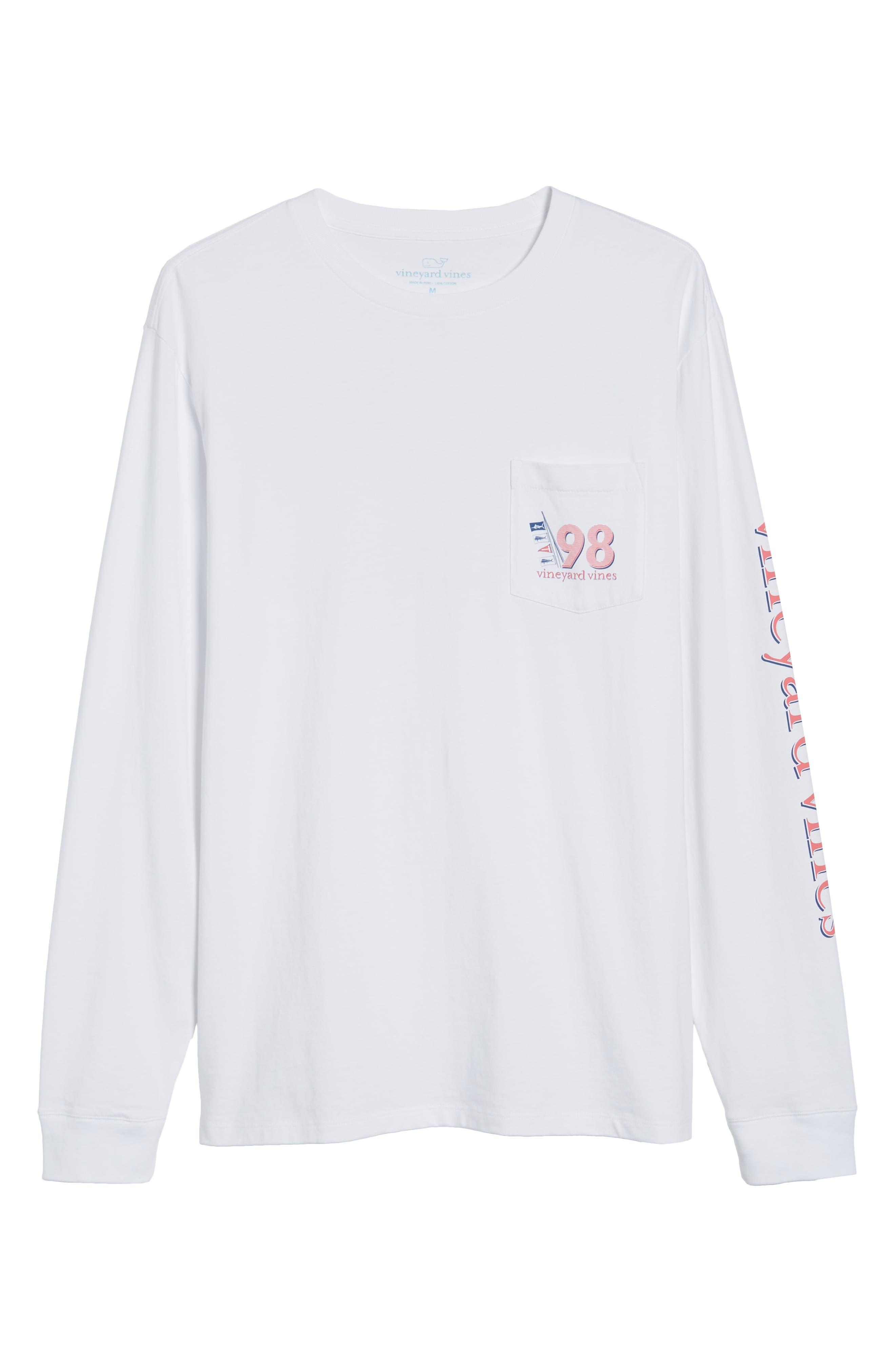 Sportfisher Regular Fit Crewneck T-Shirt,                             Alternate thumbnail 6, color,                             100