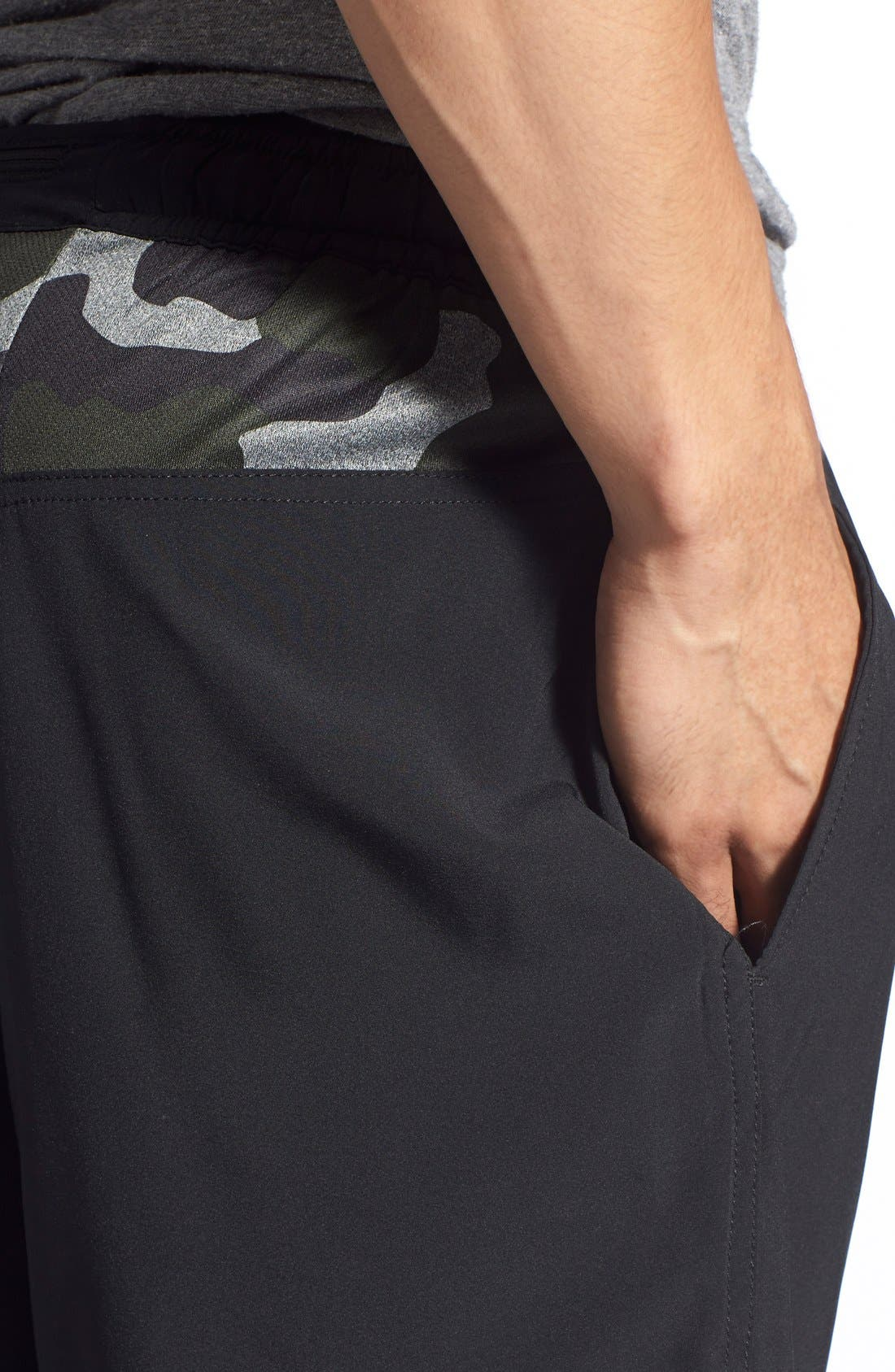ATHLETIC RECON,                             '6.5' Stretch Woven Performance Shorts,                             Alternate thumbnail 2, color,                             001