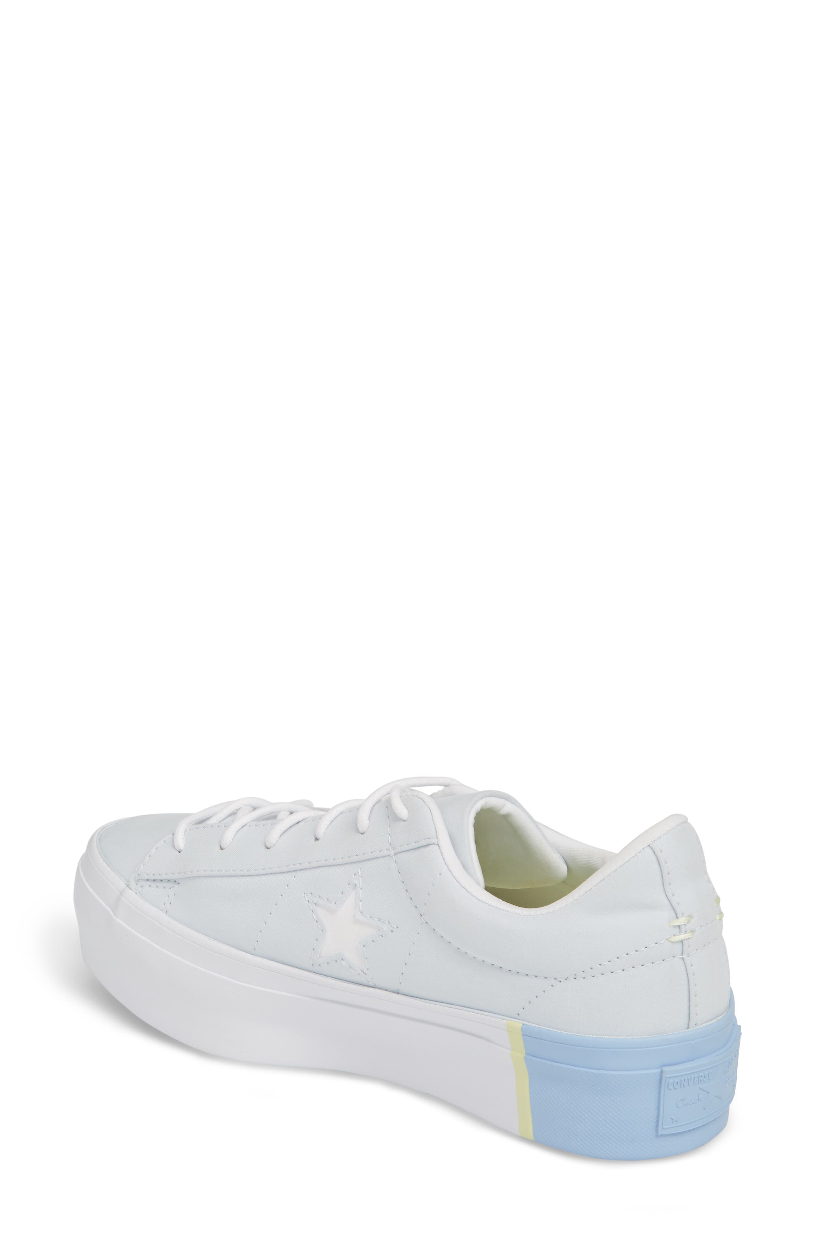 Chuck Taylor<sup>®</sup> All Star<sup>®</sup> One Star Platform Sneaker,                             Alternate thumbnail 4, color,