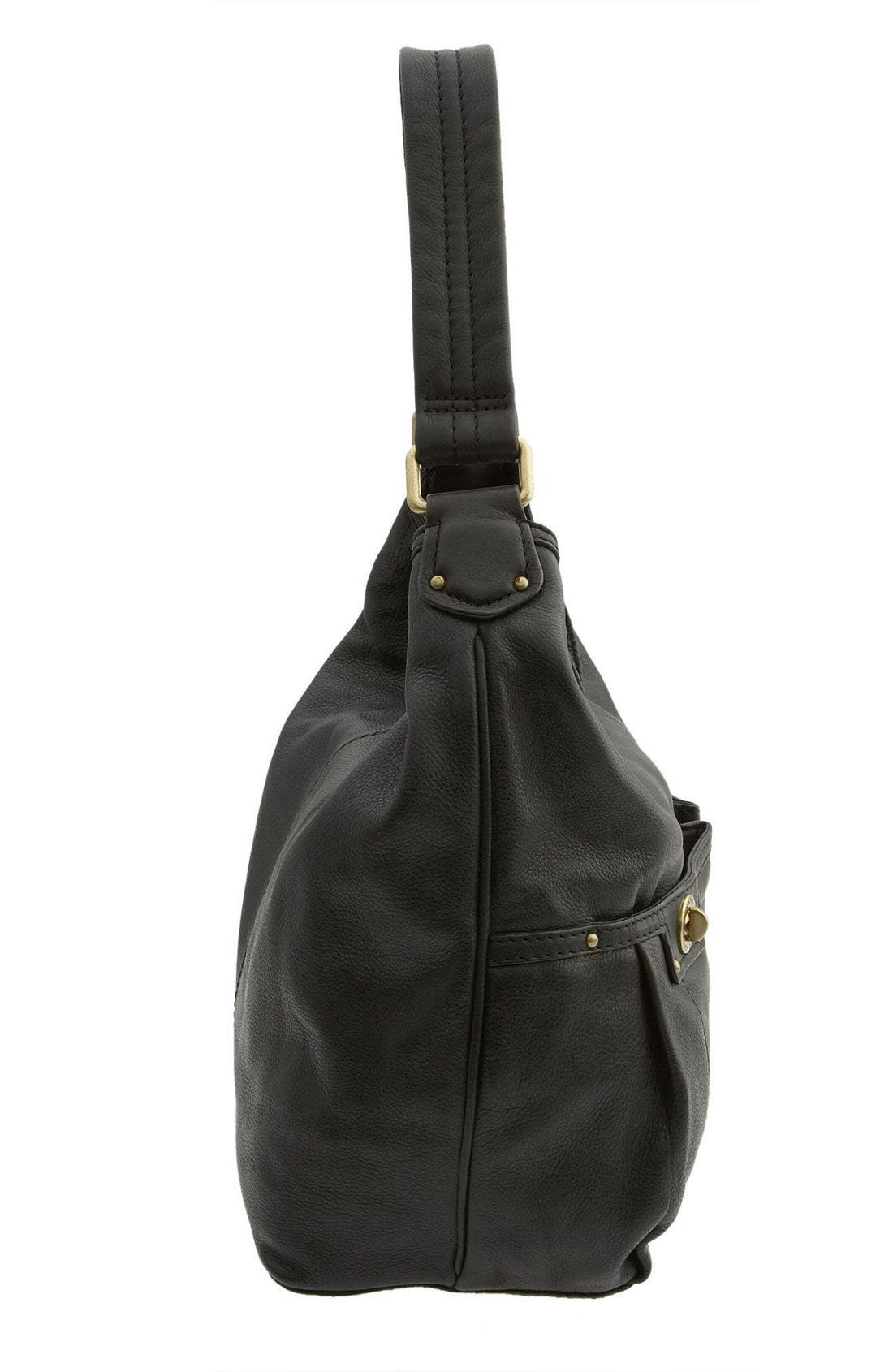 MARC BY MARC JACOBS 'Totally Turnlock - Faridah' Hobo Bag,                             Alternate thumbnail 2, color,                             001