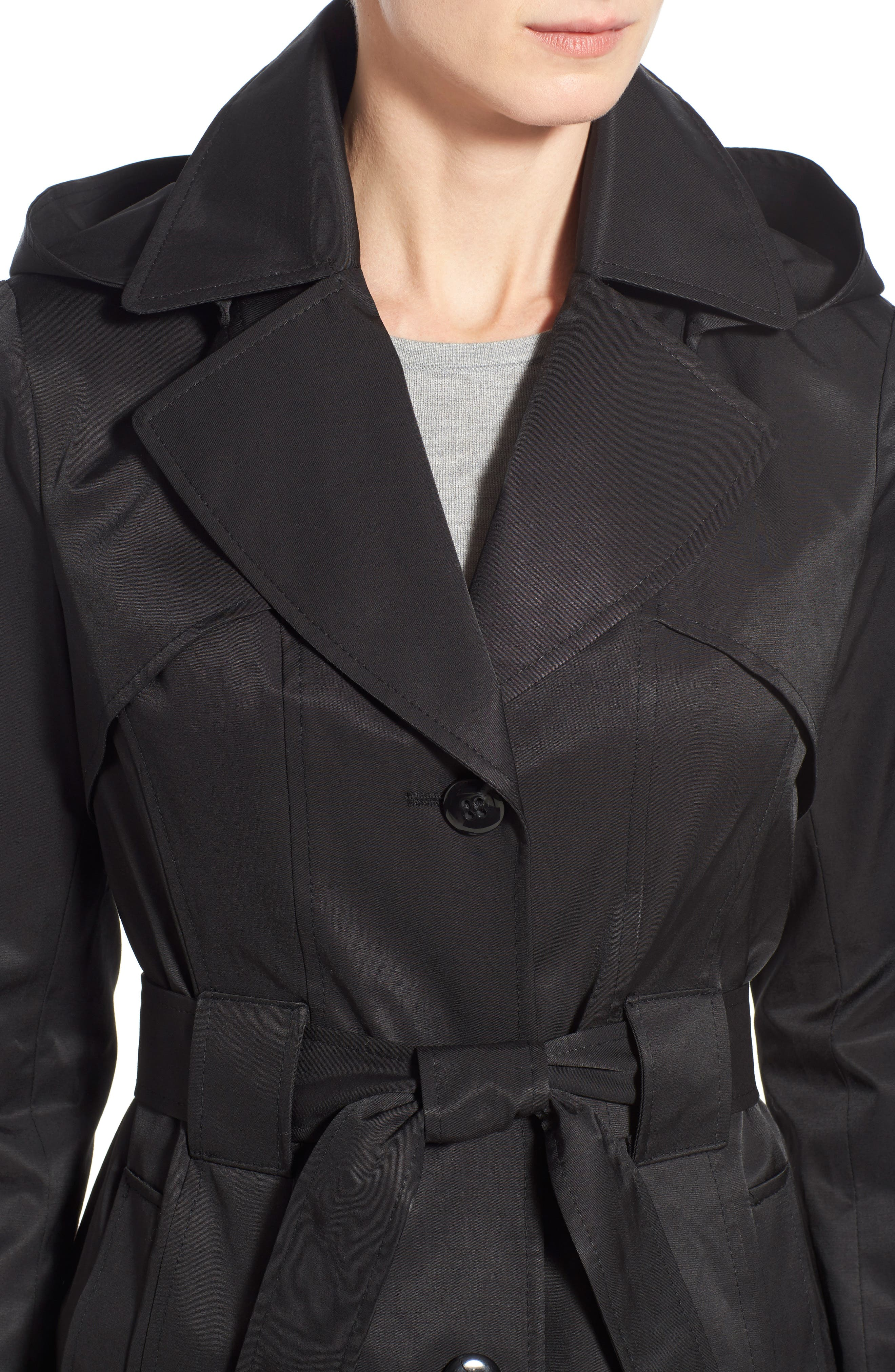 'Scarpa' Hooded Single Breasted Trench Coat,                             Alternate thumbnail 35, color,