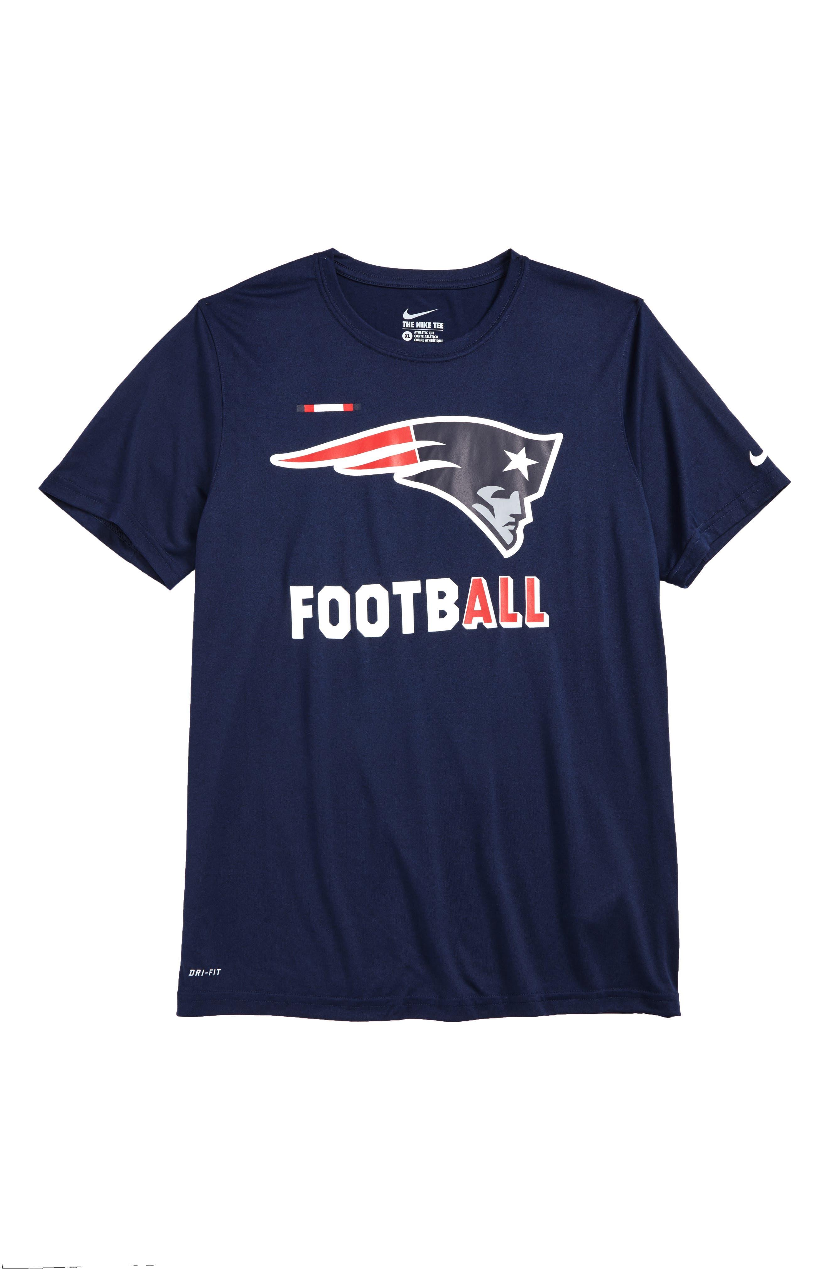 Nike NFL - New England Patriots Dry T-Shirt,                         Main,                         color, 412