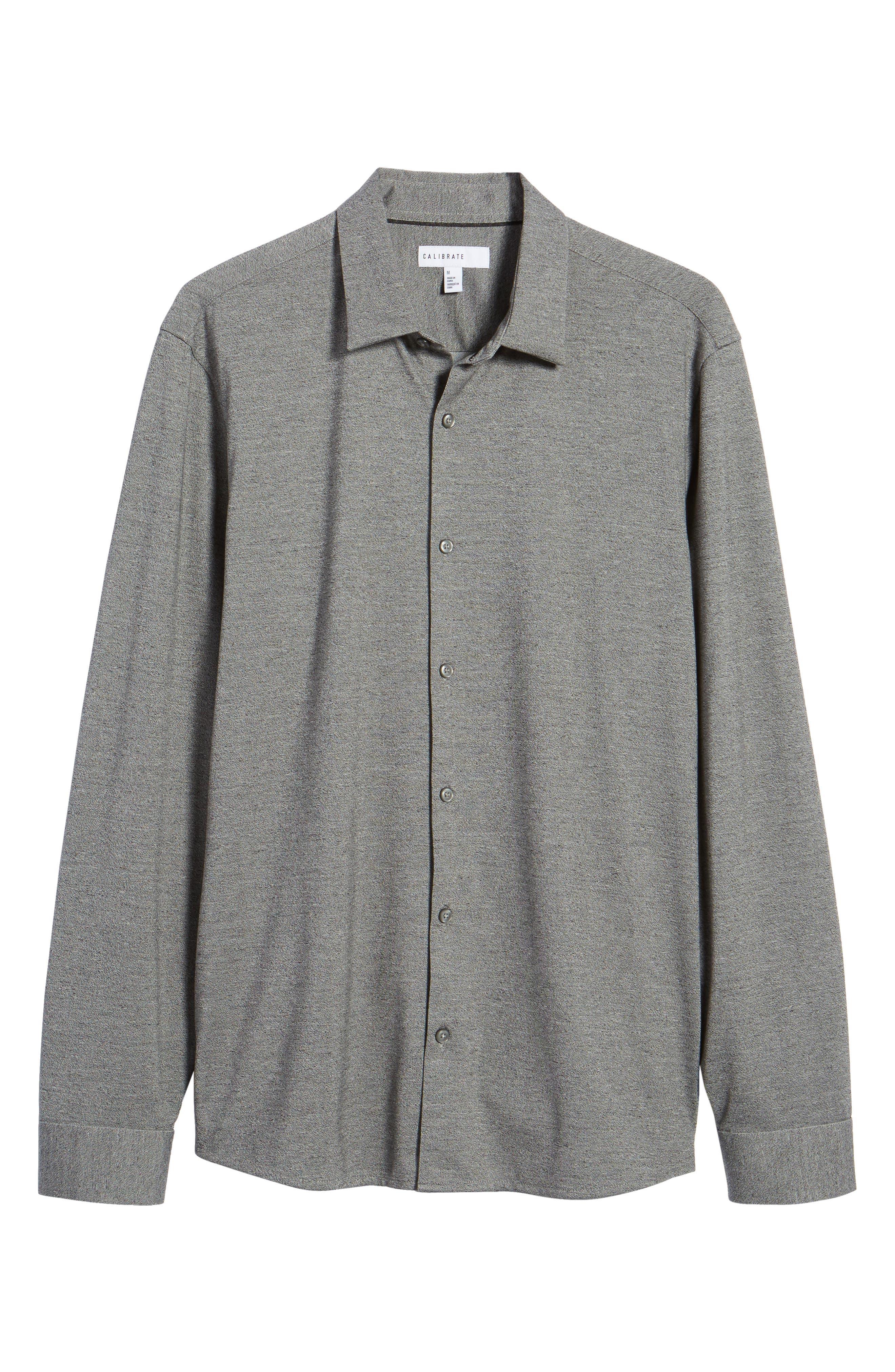 Knit Sport Shirt,                             Alternate thumbnail 12, color,