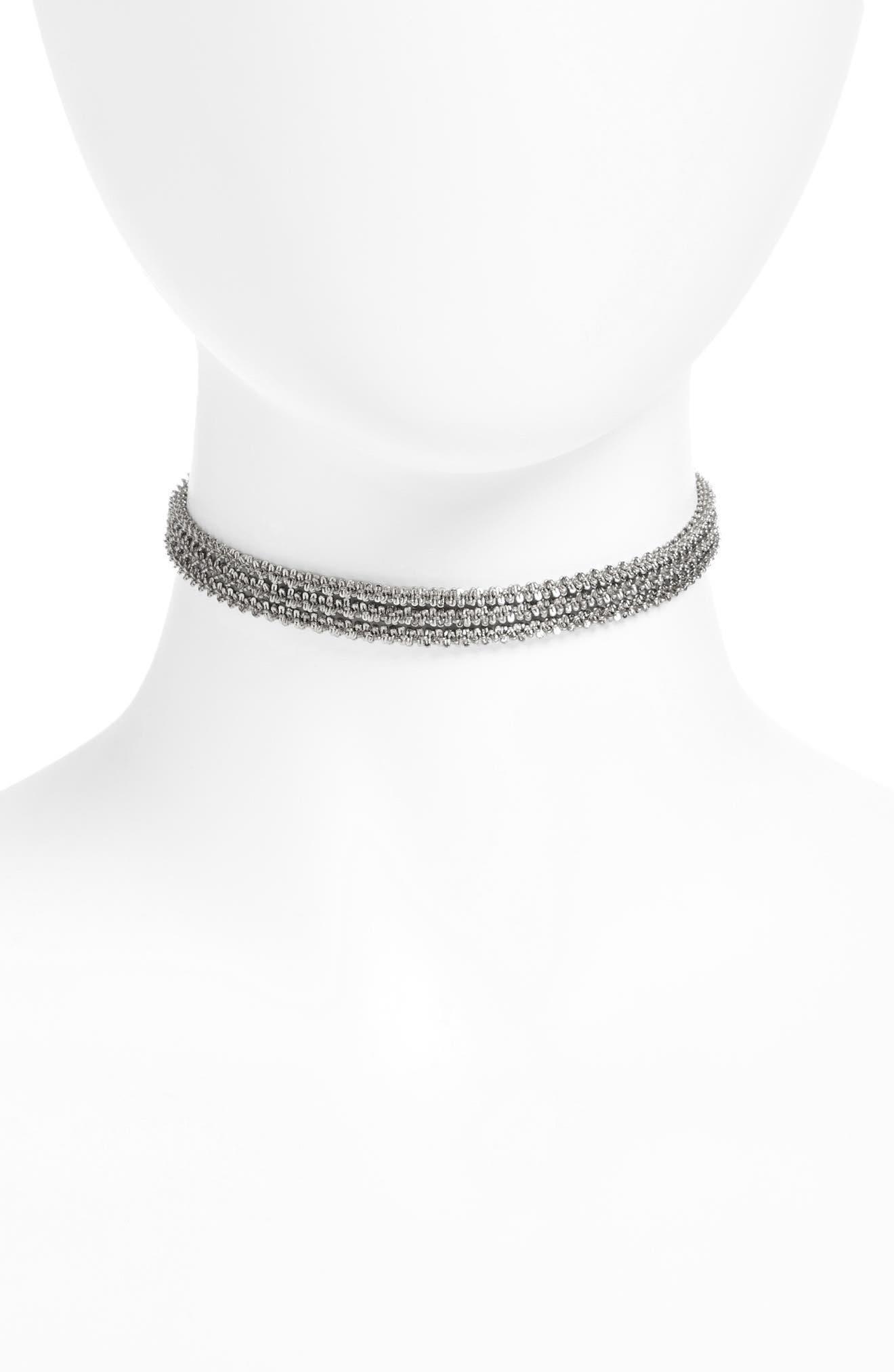 Three-Layer Chain Choker,                         Main,                         color, 040