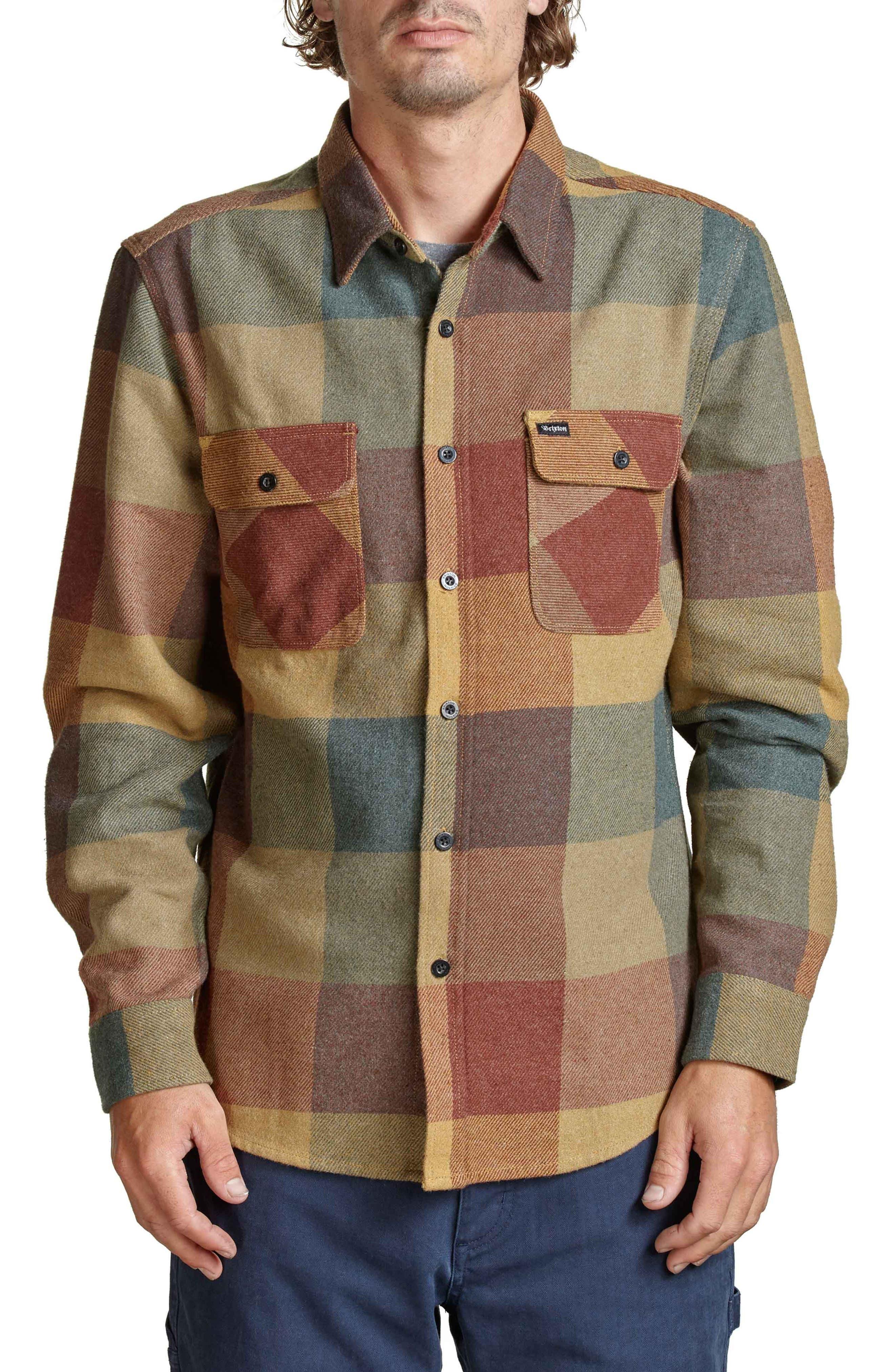 Bowery Flannel Shirt,                             Main thumbnail 12, color,