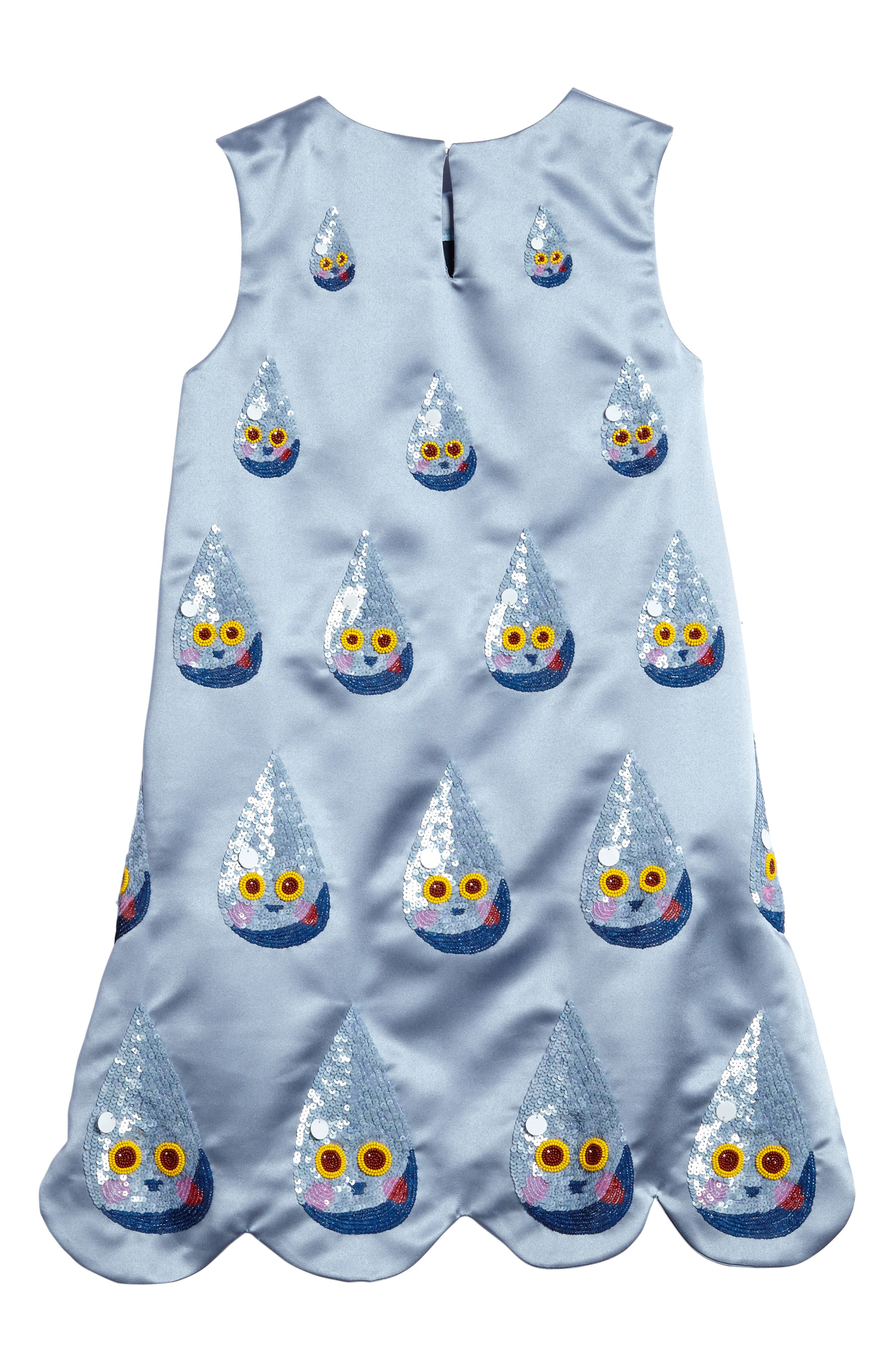 Sequin Raindrop Shift Dress,                             Alternate thumbnail 2, color,                             400