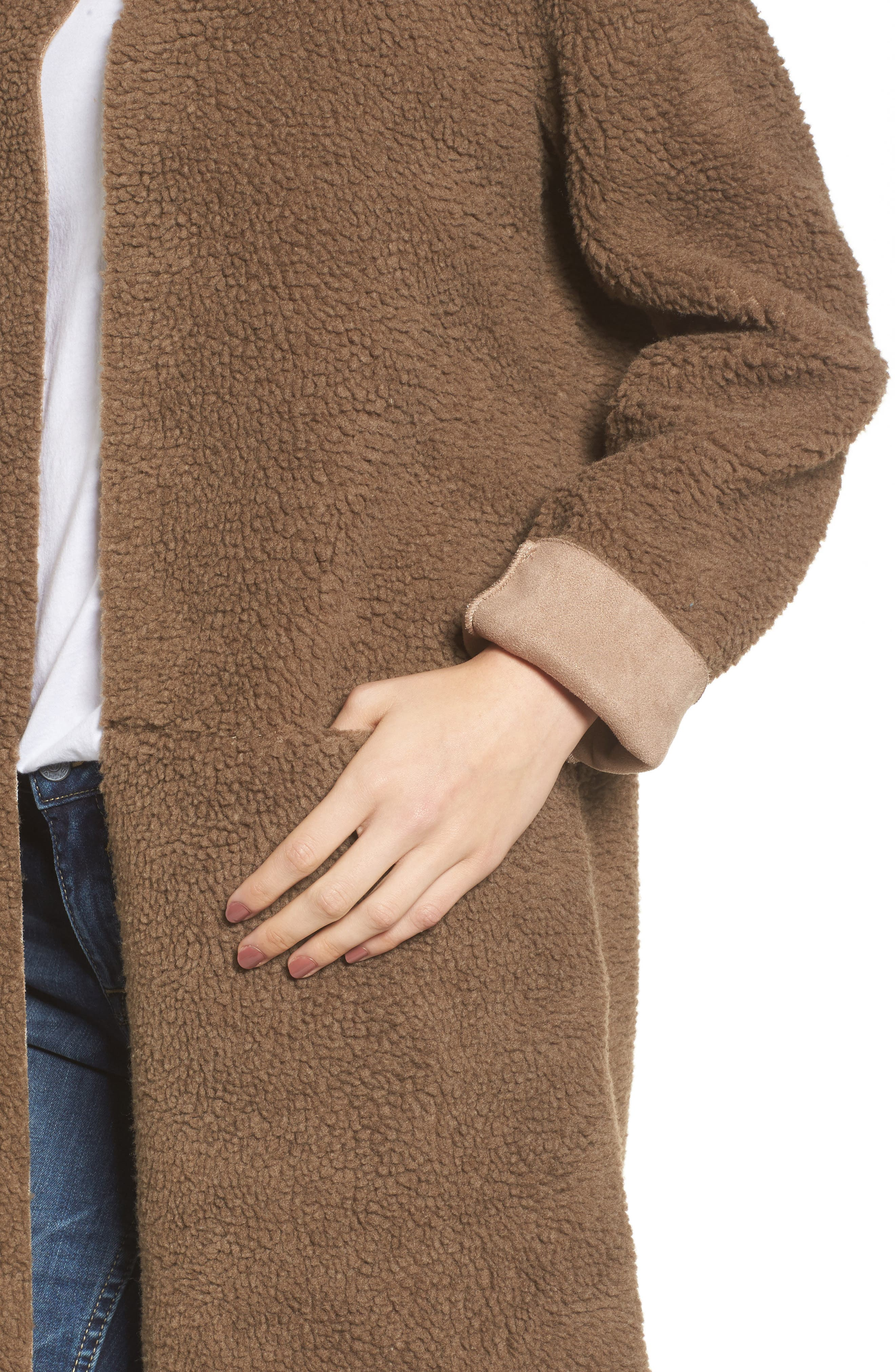 Reversible Fleece Jacket,                             Alternate thumbnail 4, color,                             239