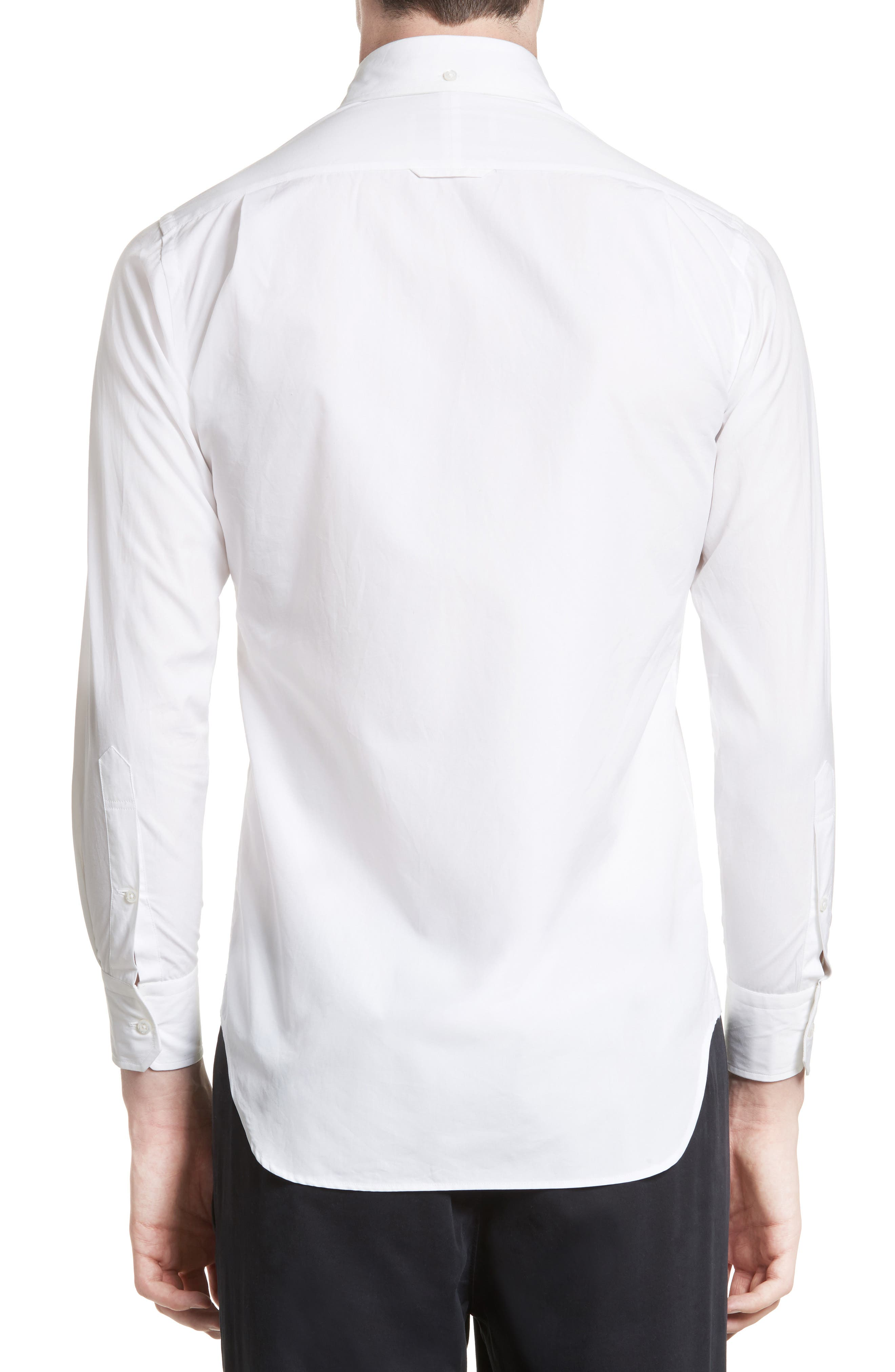 Trim Fit Engineered Placket Sport Shirt,                             Alternate thumbnail 2, color,                             100