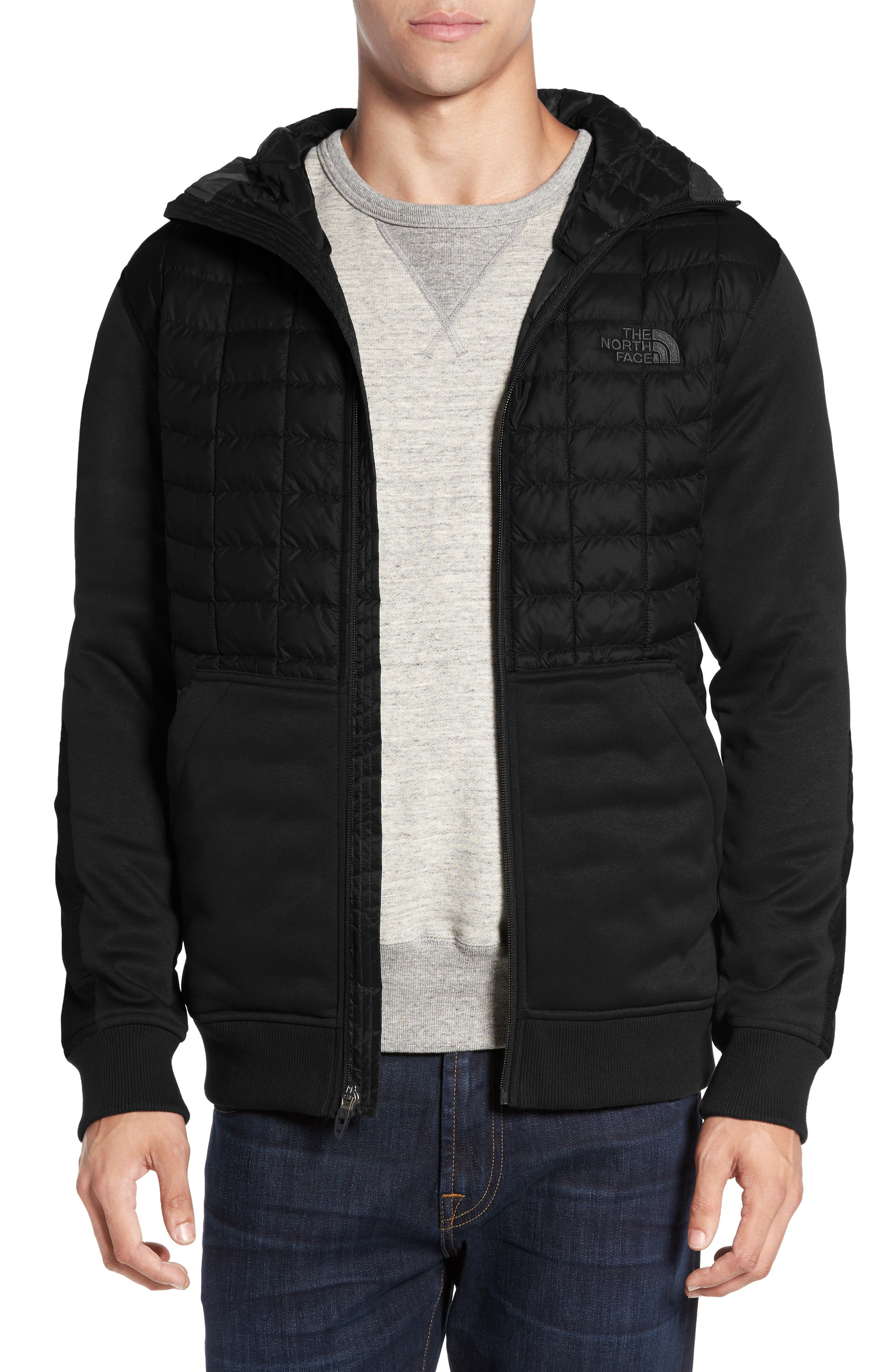 THE NORTH FACE 'Kilowatt' ThermoBall PrimaLoft<sup>®</sup> Hooded Jacket, Main, color, 001