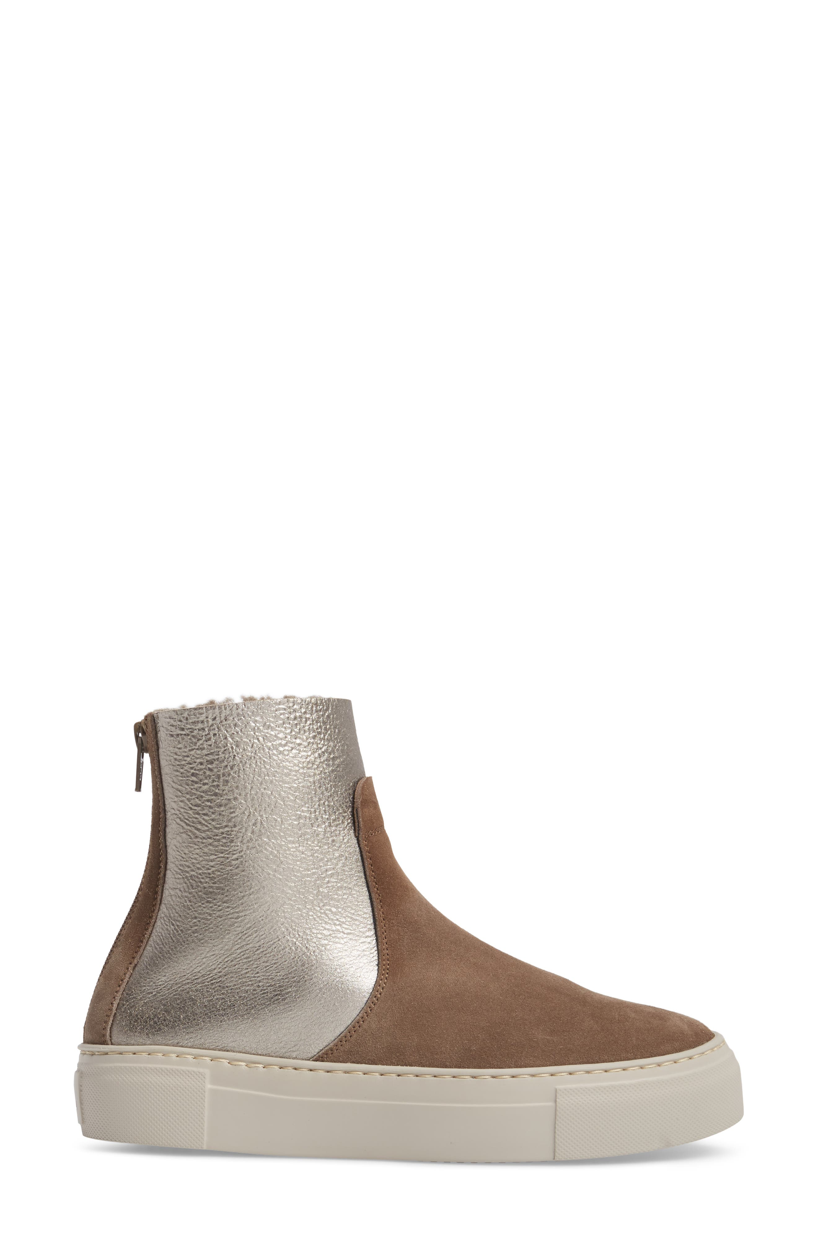 Sport Genuine Shearling Lined Bootie,                             Alternate thumbnail 3, color,                             255