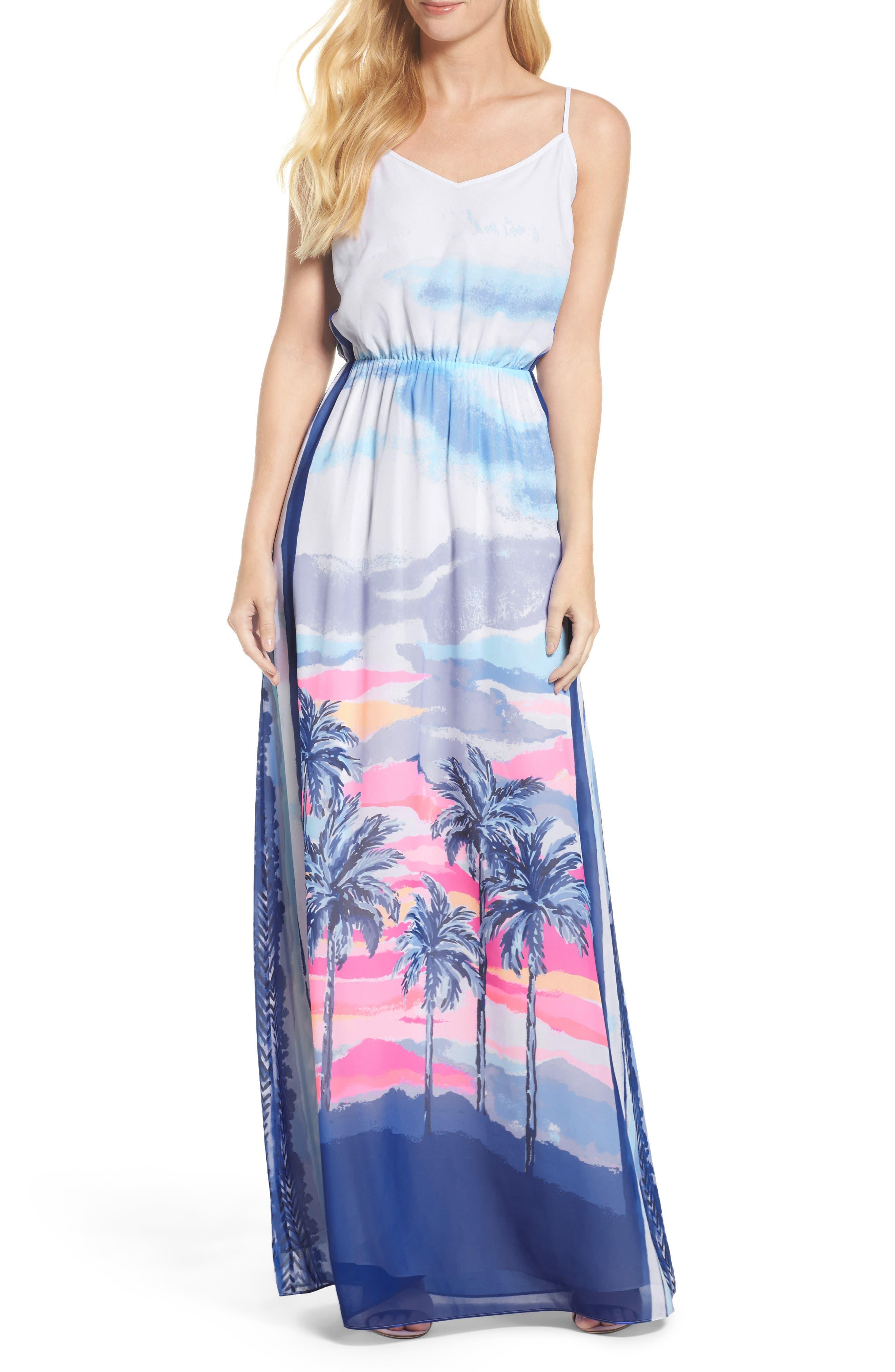 Deanna Maxi Dress,                         Main,                         color, 697