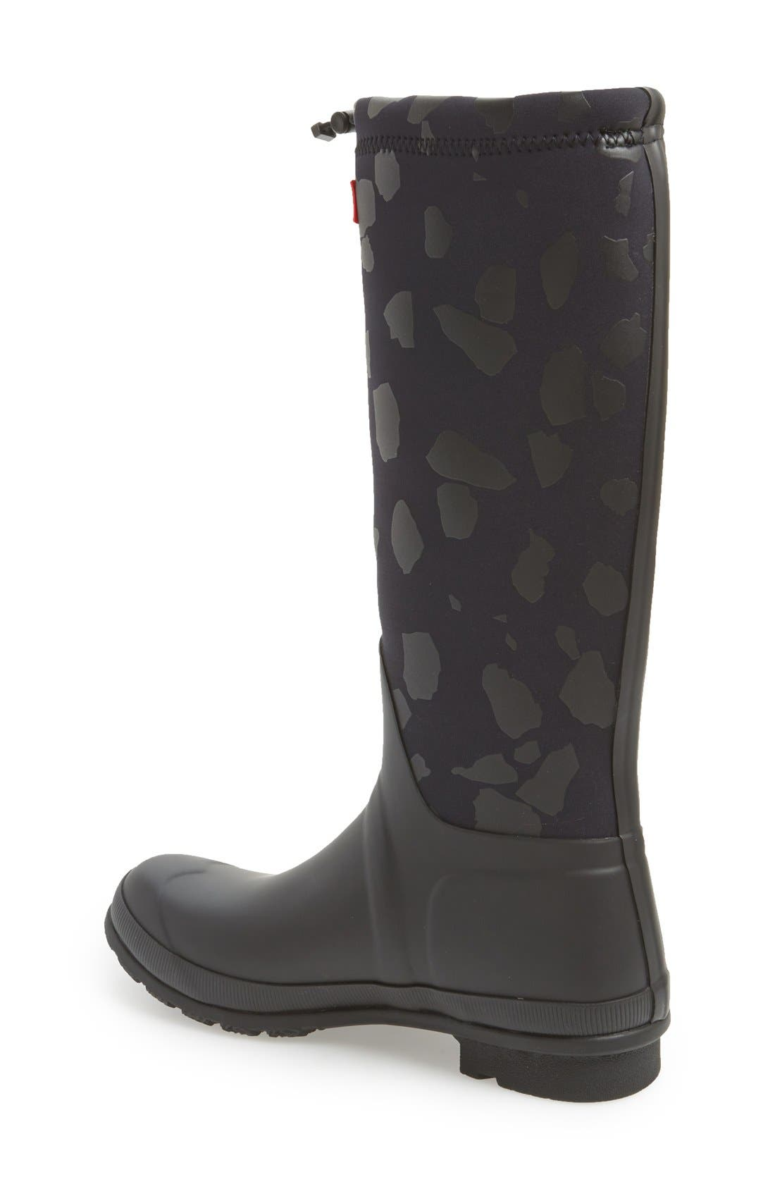 HUNTER,                             'Original TeazzoTour' WaterproofRain Boot,                             Alternate thumbnail 2, color,                             019
