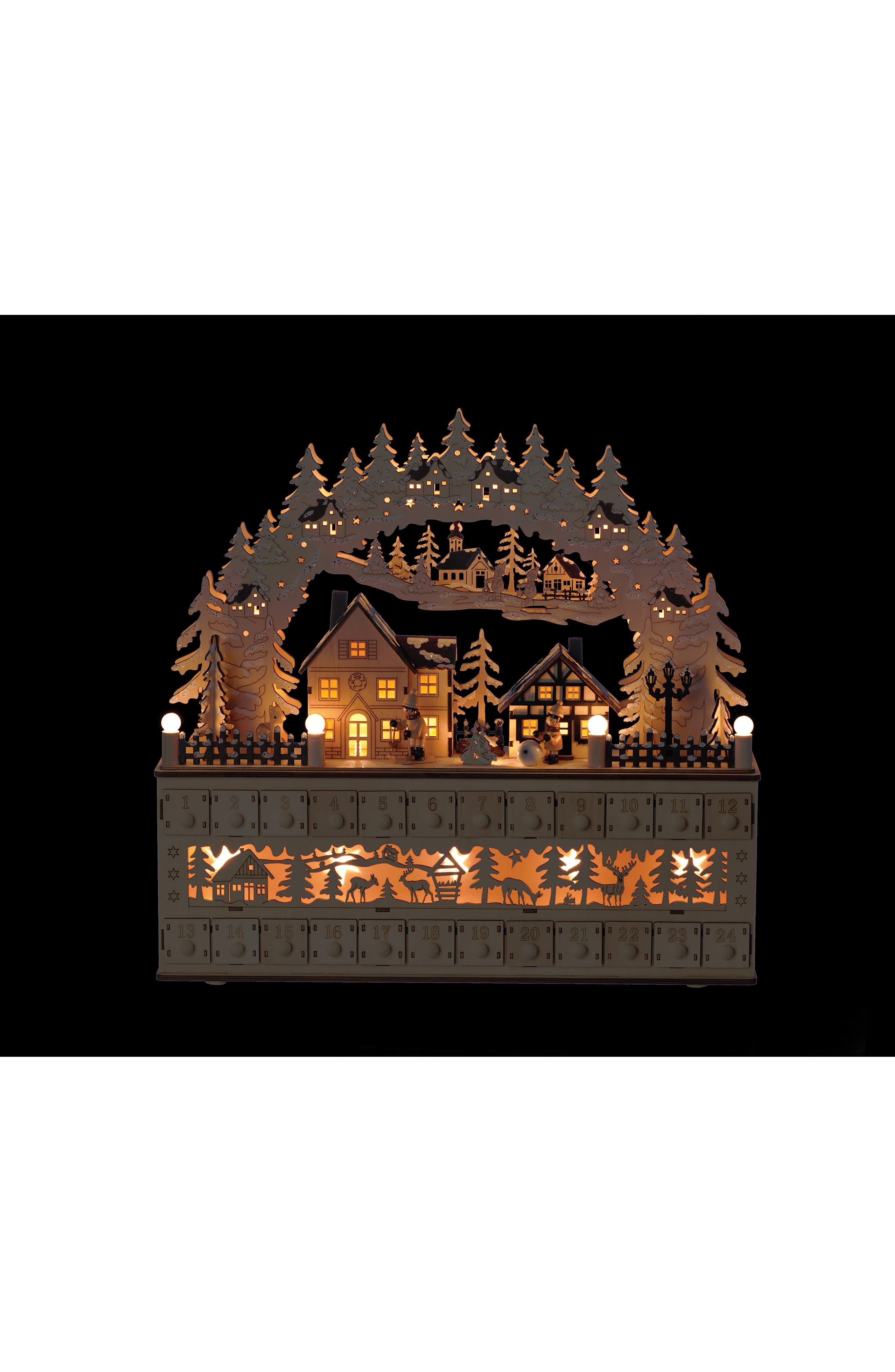 ROMAN,                             LED Advent Countdown Village Decoration,                             Alternate thumbnail 2, color,                             200