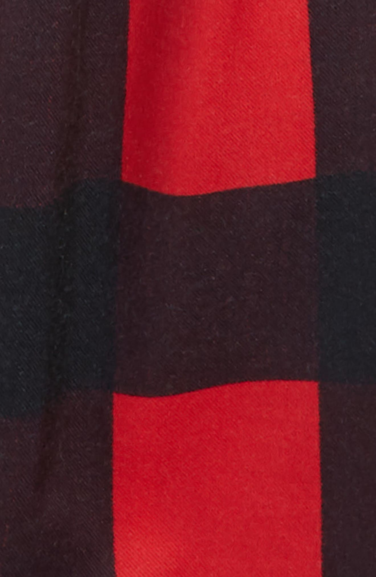 Plaid Flannel Pants,                             Alternate thumbnail 13, color,