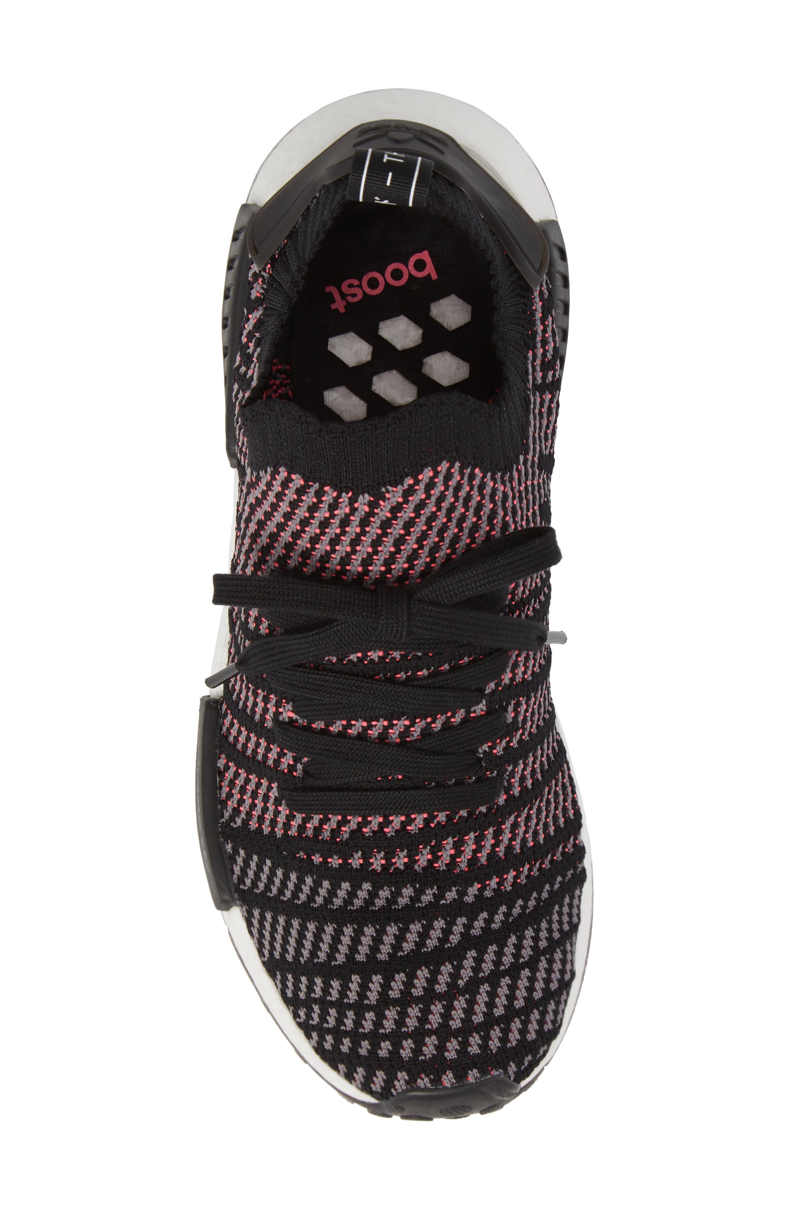 NMD R1 STLT Primeknit Sneaker,                             Alternate thumbnail 10, color,