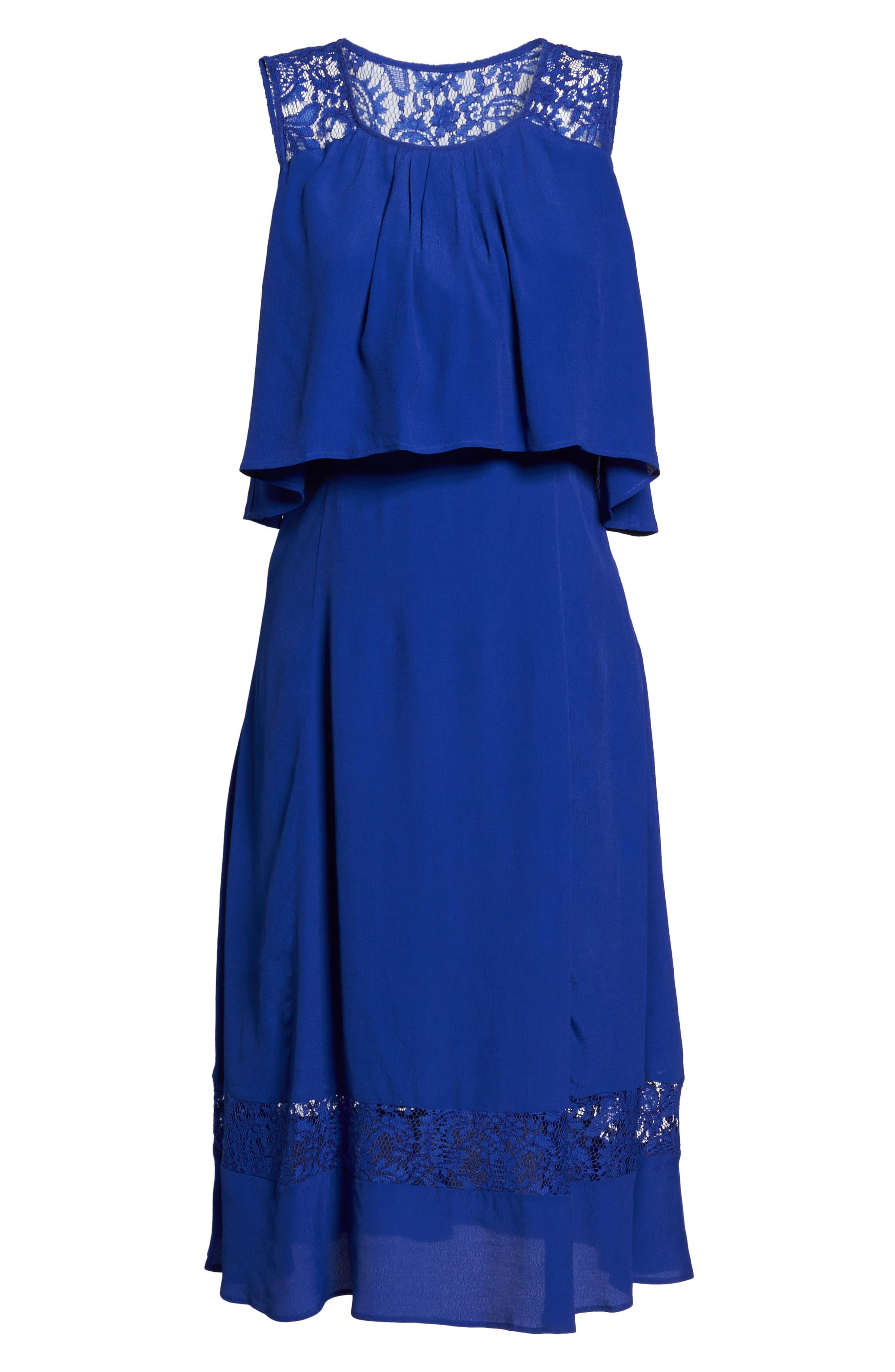 BB Dakota Erin Popover Dress,                             Alternate thumbnail 7, color,                             402