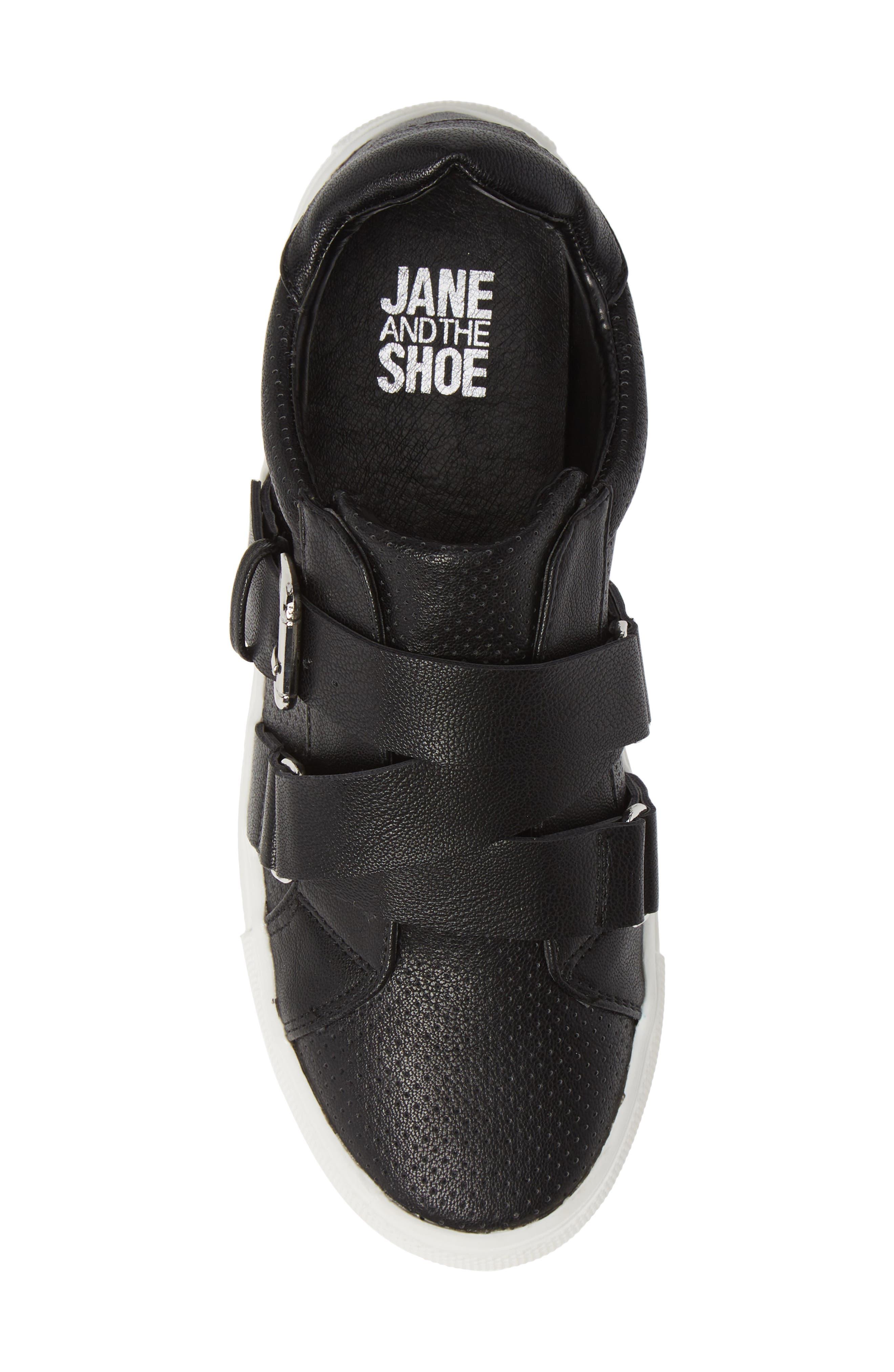 Kaelynn Sneaker,                             Alternate thumbnail 5, color,                             BLACK
