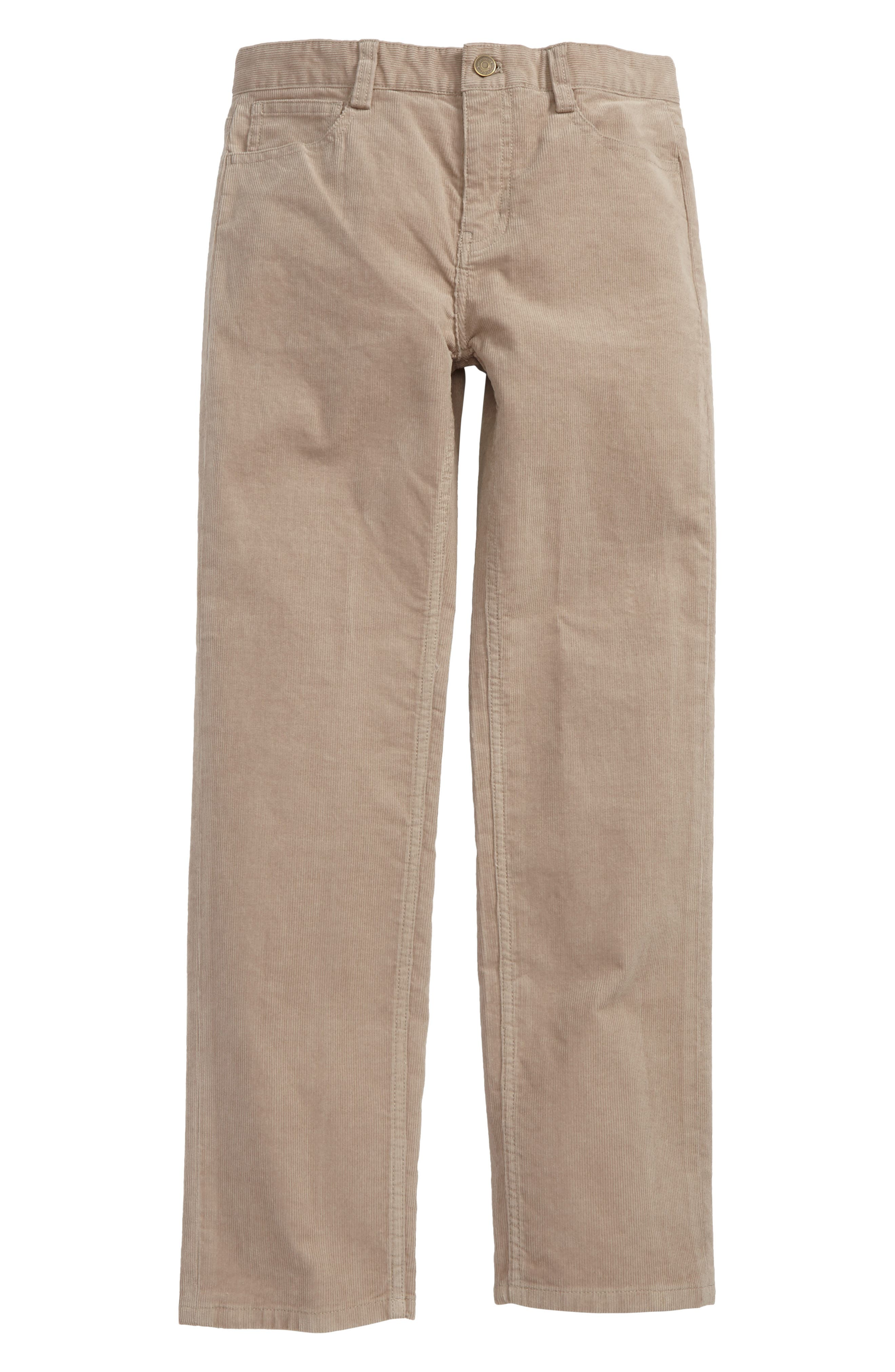 Straight Leg Corduroy Pants,                             Main thumbnail 3, color,
