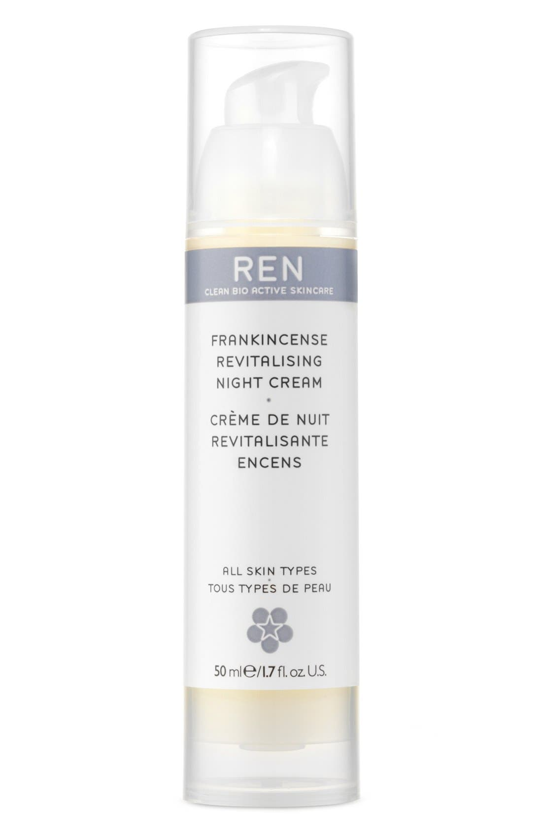 SPACE.NK.apothecary REN V-Cense<sup>™</sup> Revitalizing Night Cream,                         Main,                         color, 000