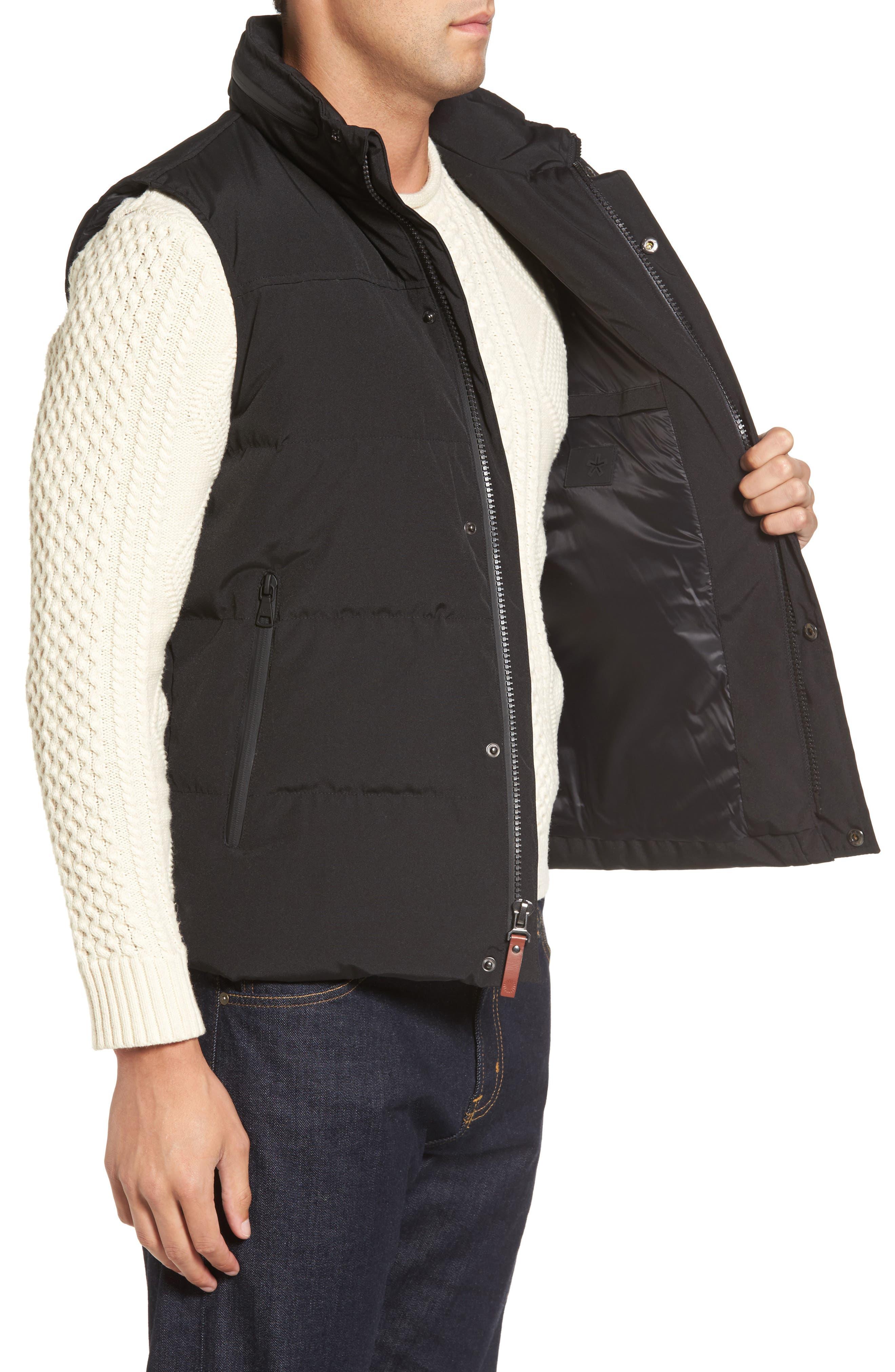Water-Resistant Down Vest,                             Alternate thumbnail 3, color,                             001
