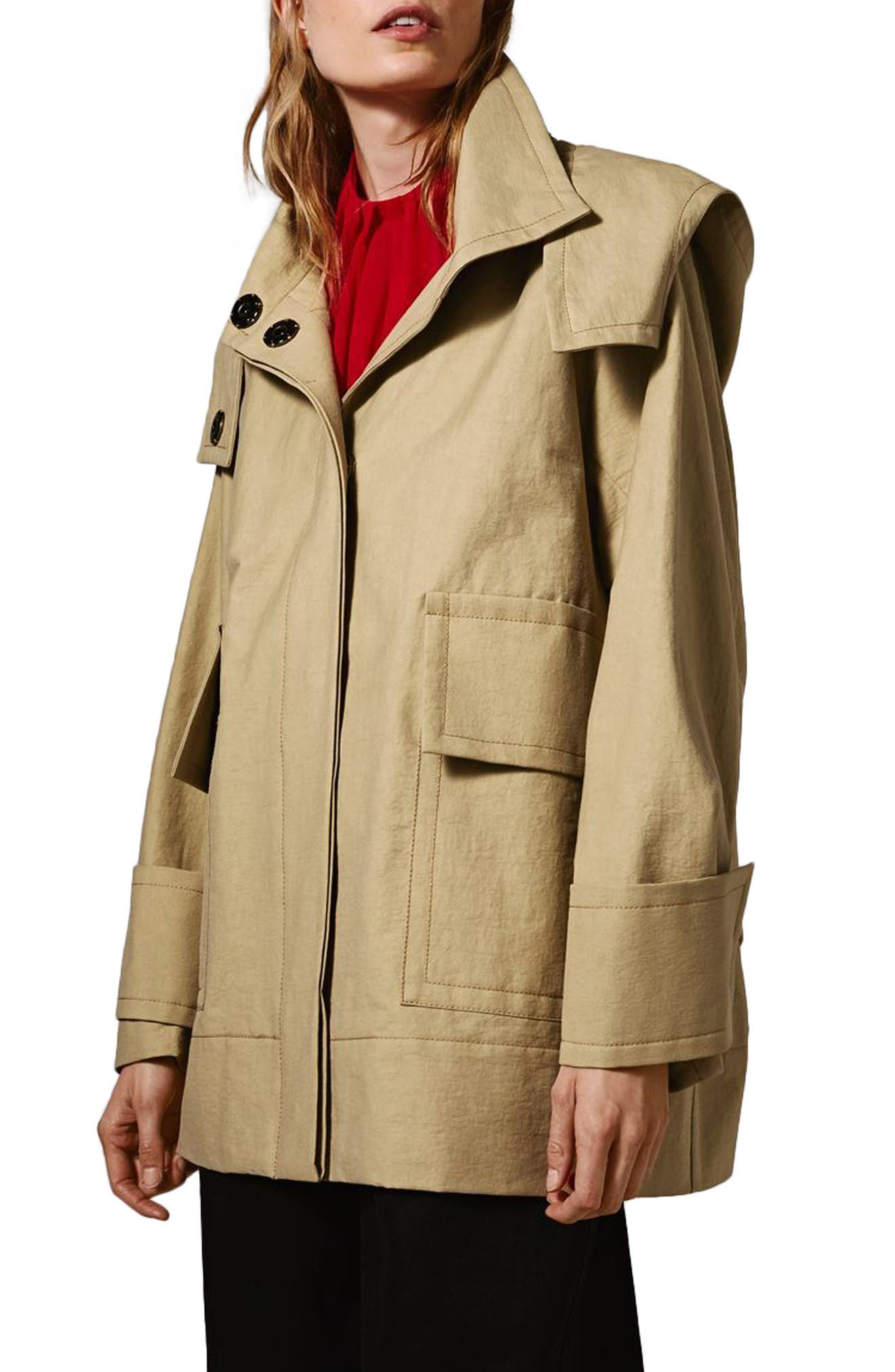 Hooded Parka,                             Main thumbnail 1, color,