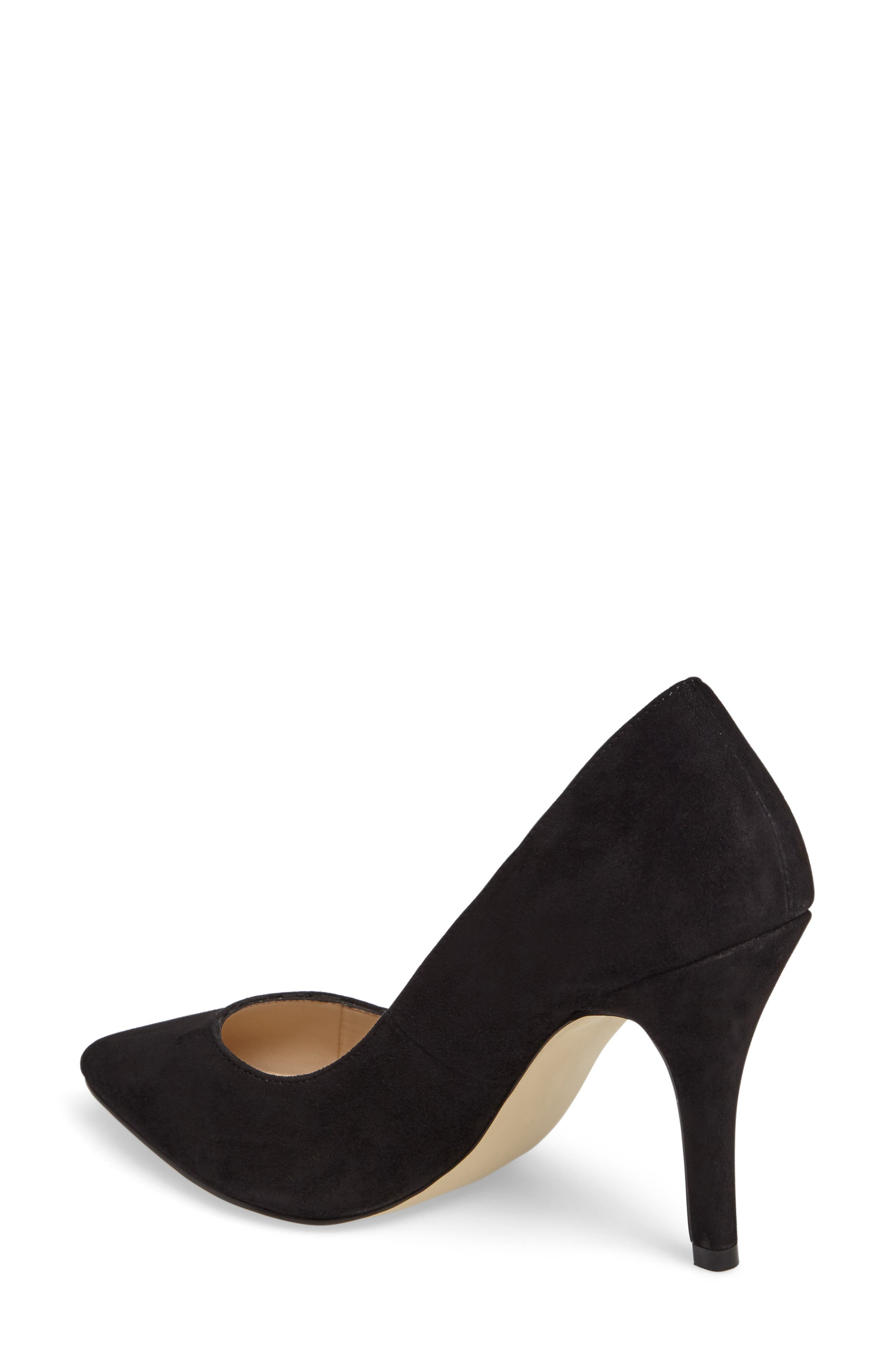 Vally Pointy Toe Pump,                             Alternate thumbnail 2, color,                             001