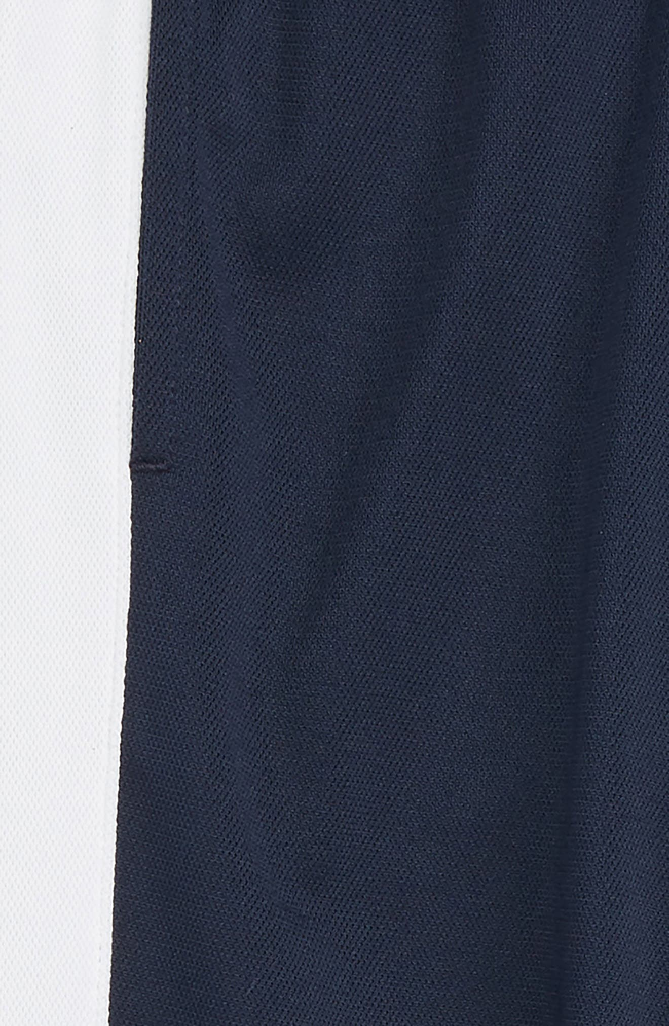 Performance Knit Track Pants,                             Alternate thumbnail 2, color,                             OBSIDIAN/ WHITE