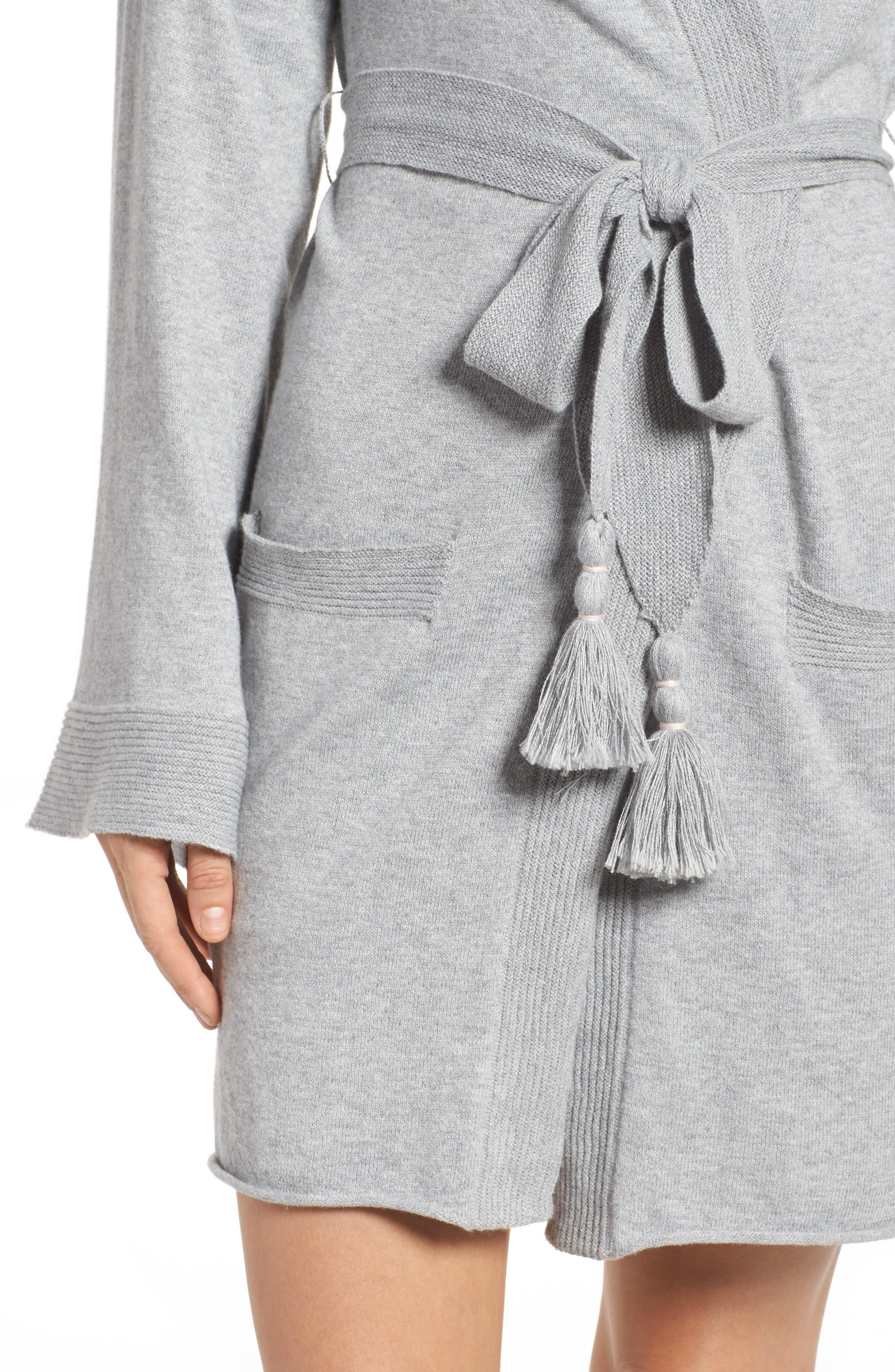 Valoria Short Robe,                             Alternate thumbnail 4, color,                             020