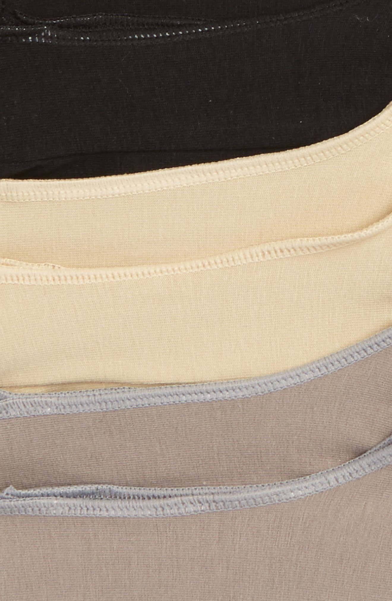 3-Pack Liner Socks,                             Alternate thumbnail 3, color,