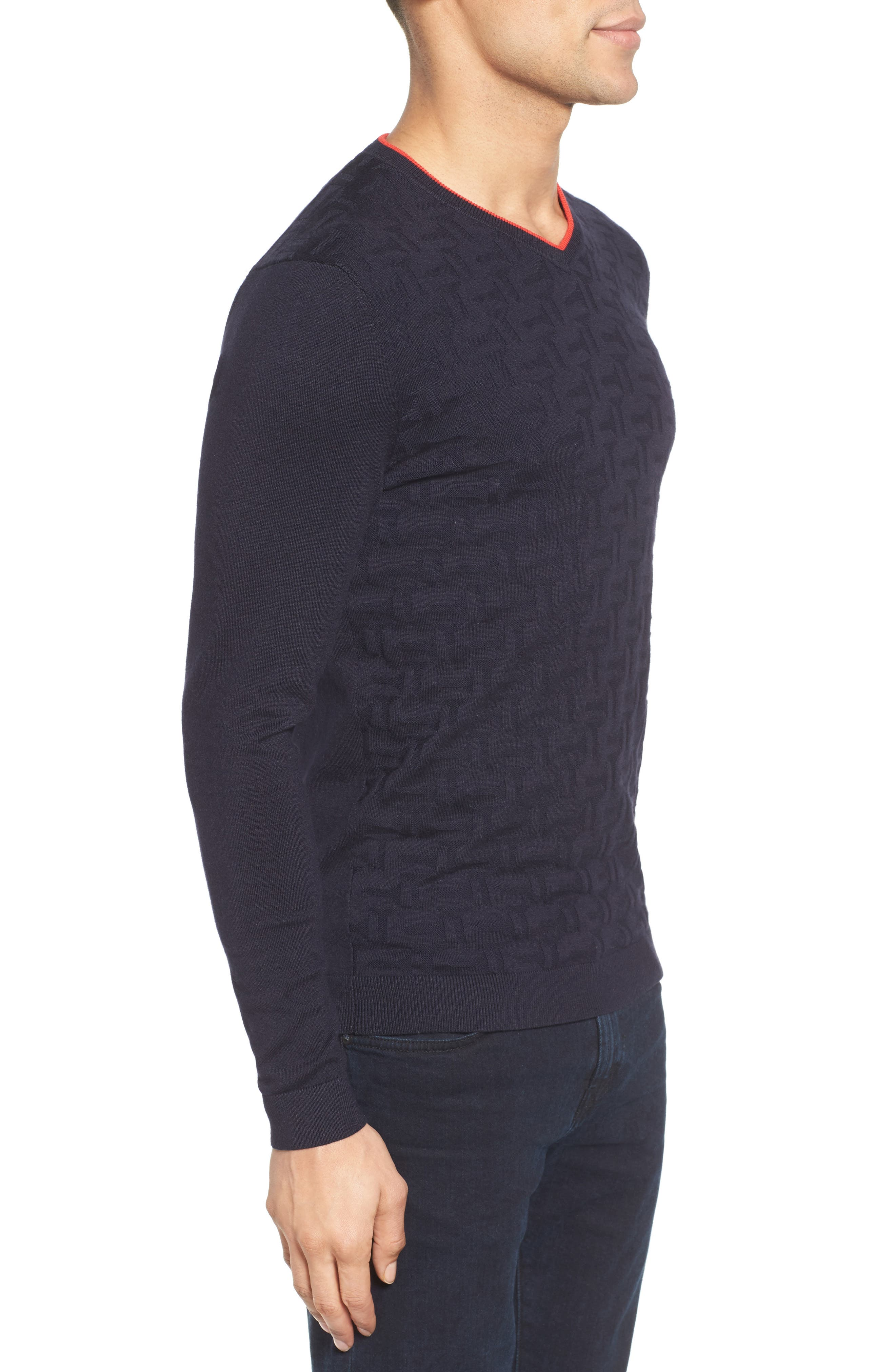 Armstro Tipped Golf Tee Sweater,                             Alternate thumbnail 17, color,