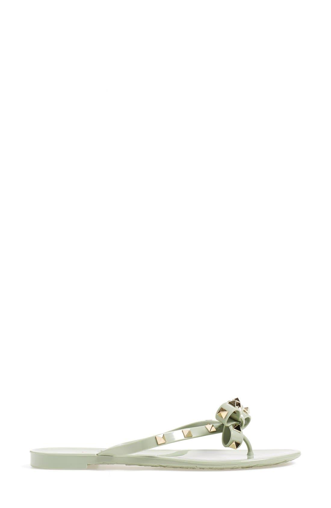 'Rockstud' Flip Flop,                             Alternate thumbnail 101, color,
